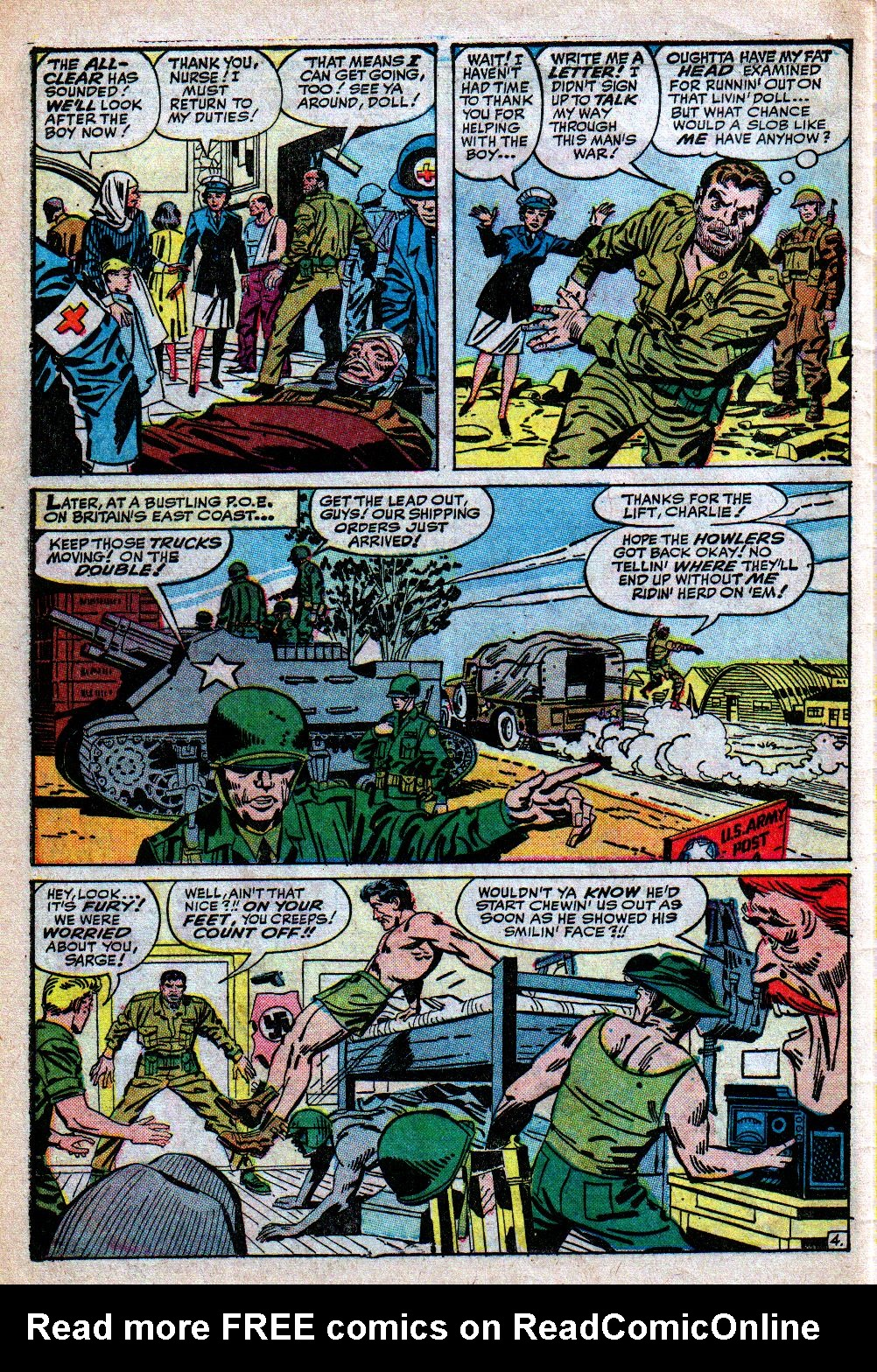 Read online Sgt. Fury comic -  Issue #4 - 6