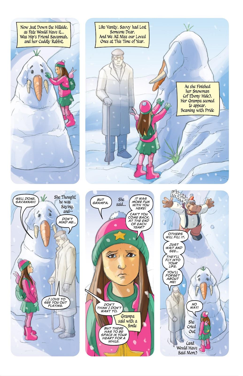 Read online Elephantmen 2261 Season Two: The Pentalion Job comic -  Issue # TPB - 102