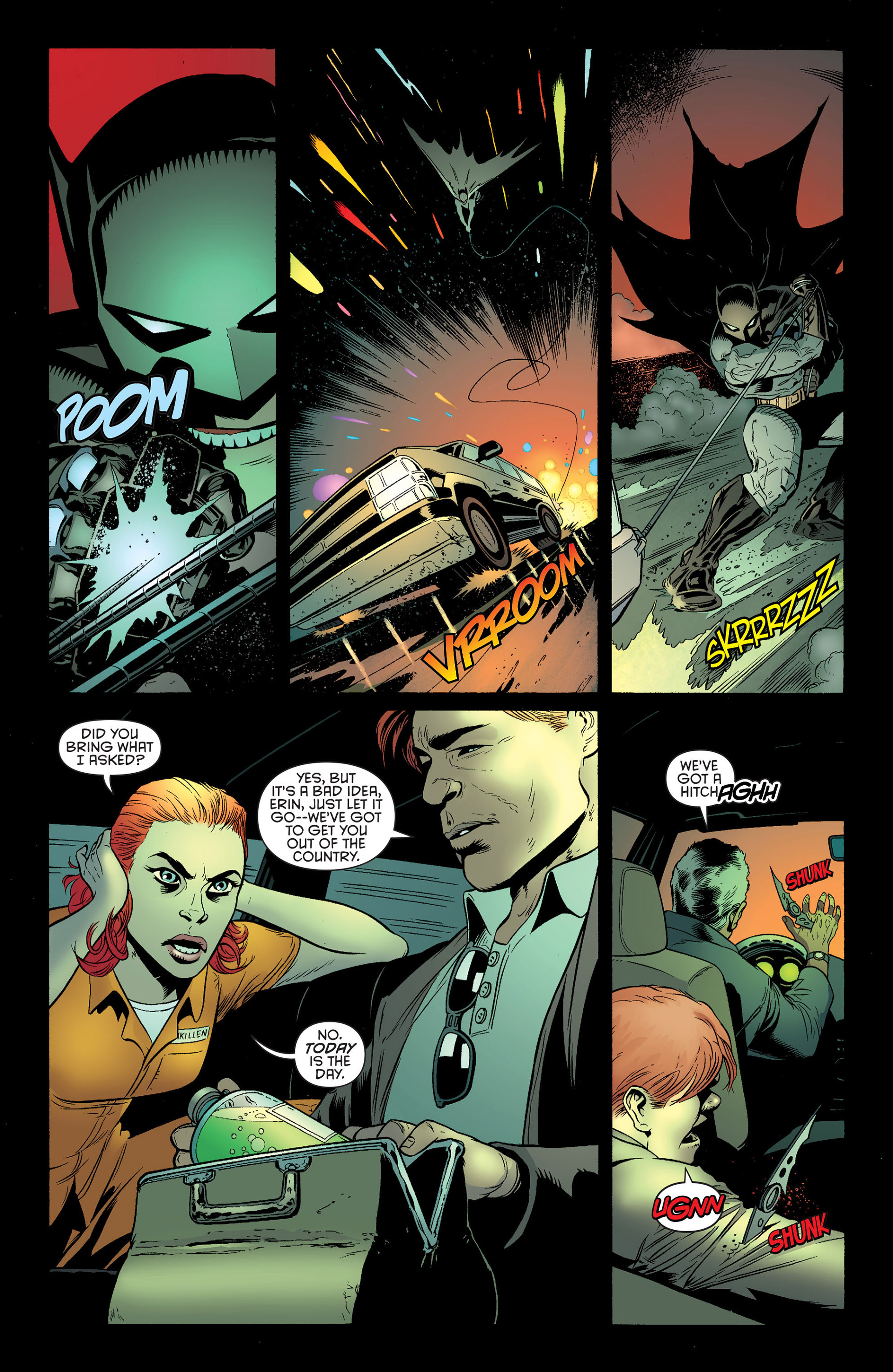 Read online Batman and Robin (2011) comic -  Issue #25 - Batman and Two-Face - 9