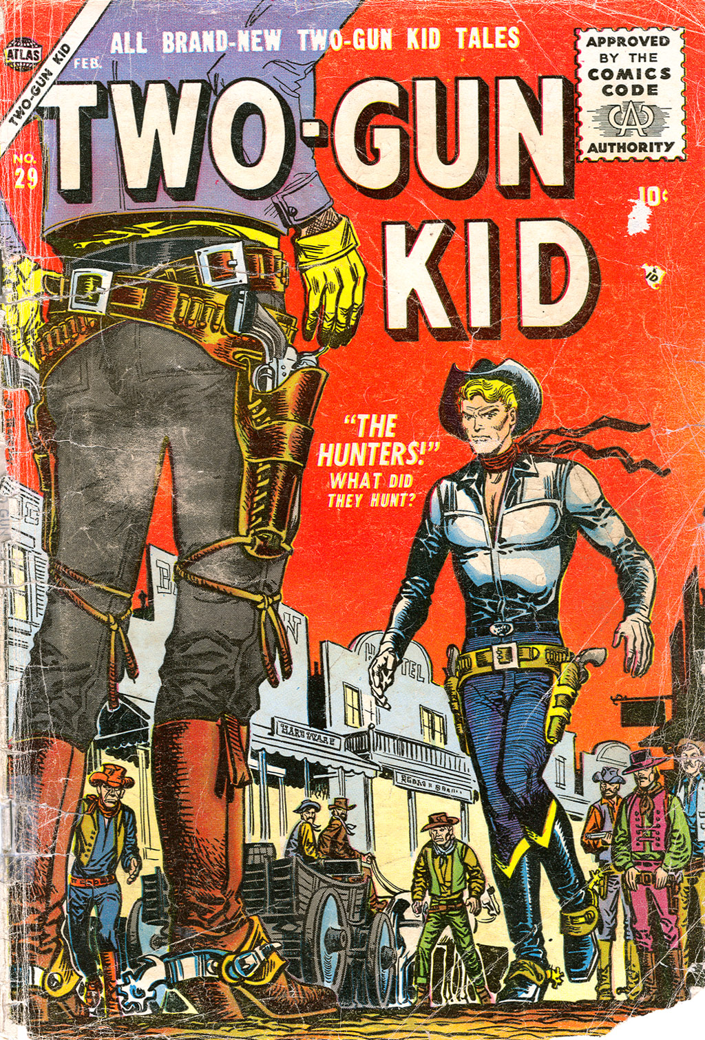 Read online Two-Gun Kid comic -  Issue #29 - 1