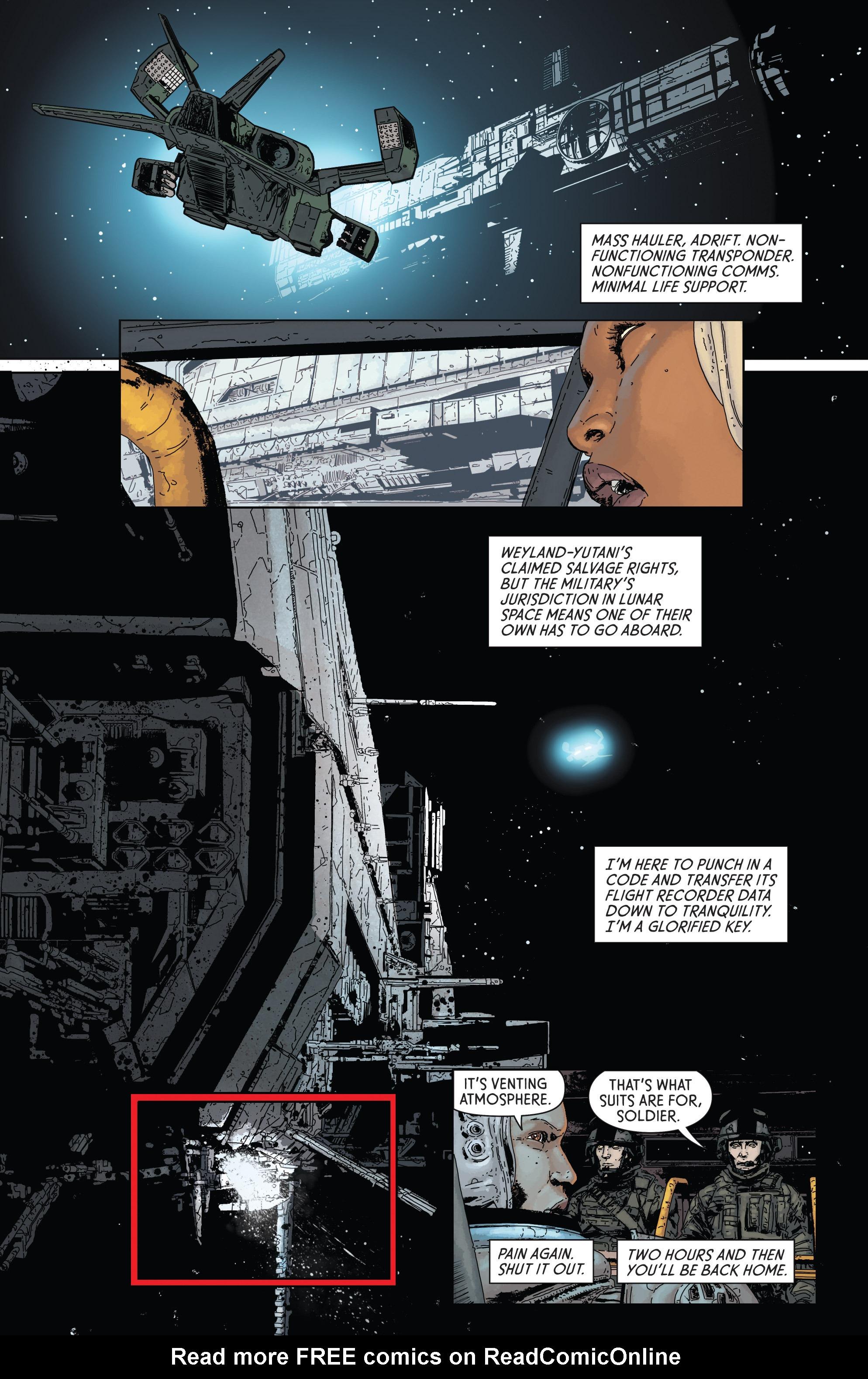 Read online Aliens: Defiance comic -  Issue #1 - 10