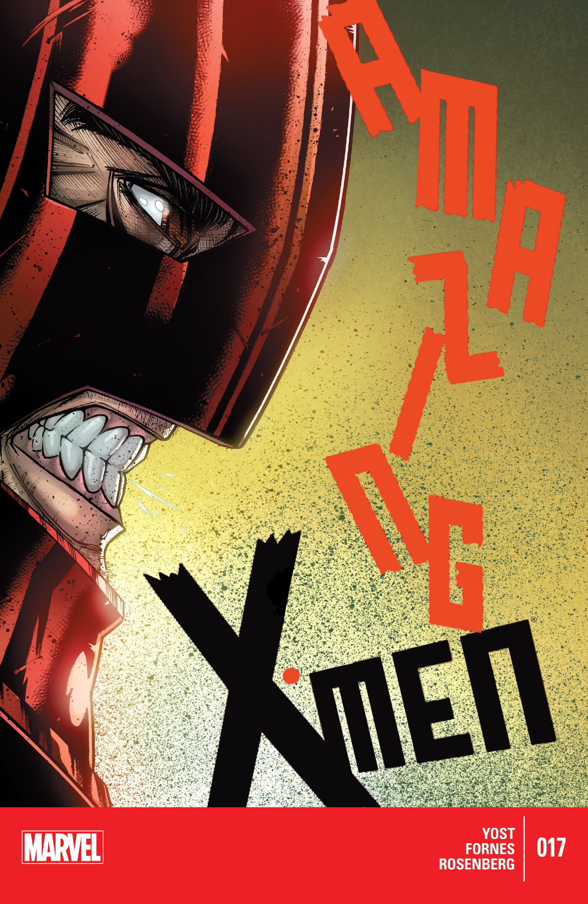 Read online Amazing X-Men (2014) comic -  Issue #17 - 1