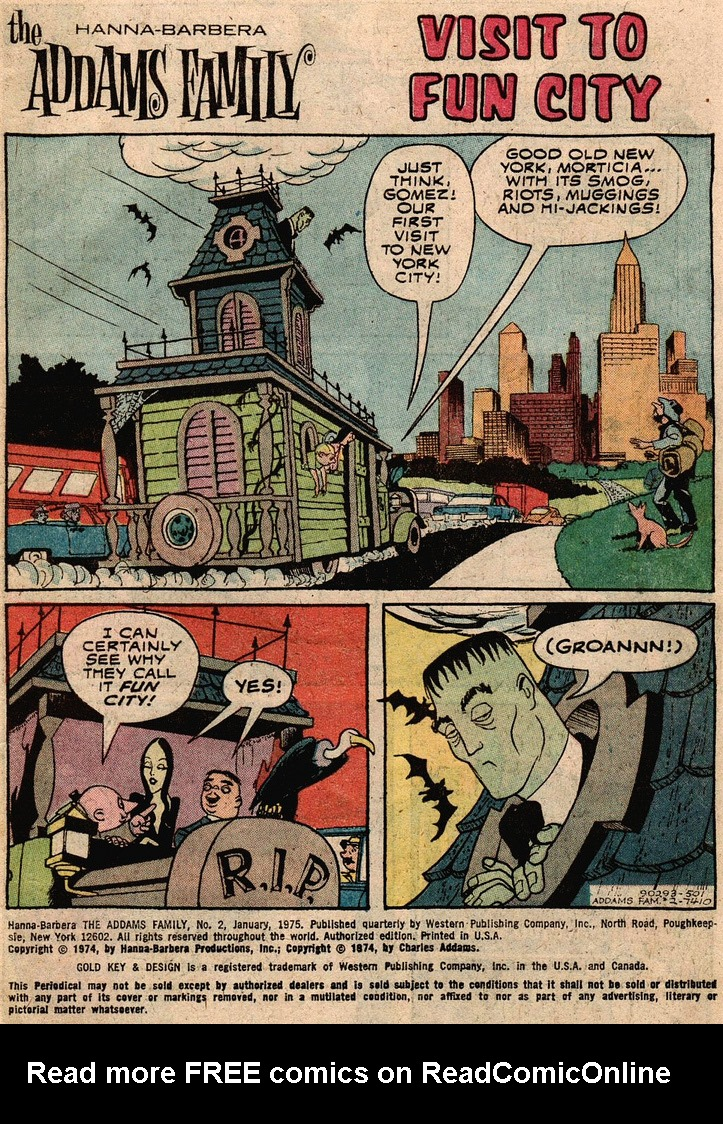 Read online Addams Family comic -  Issue #2 - 12