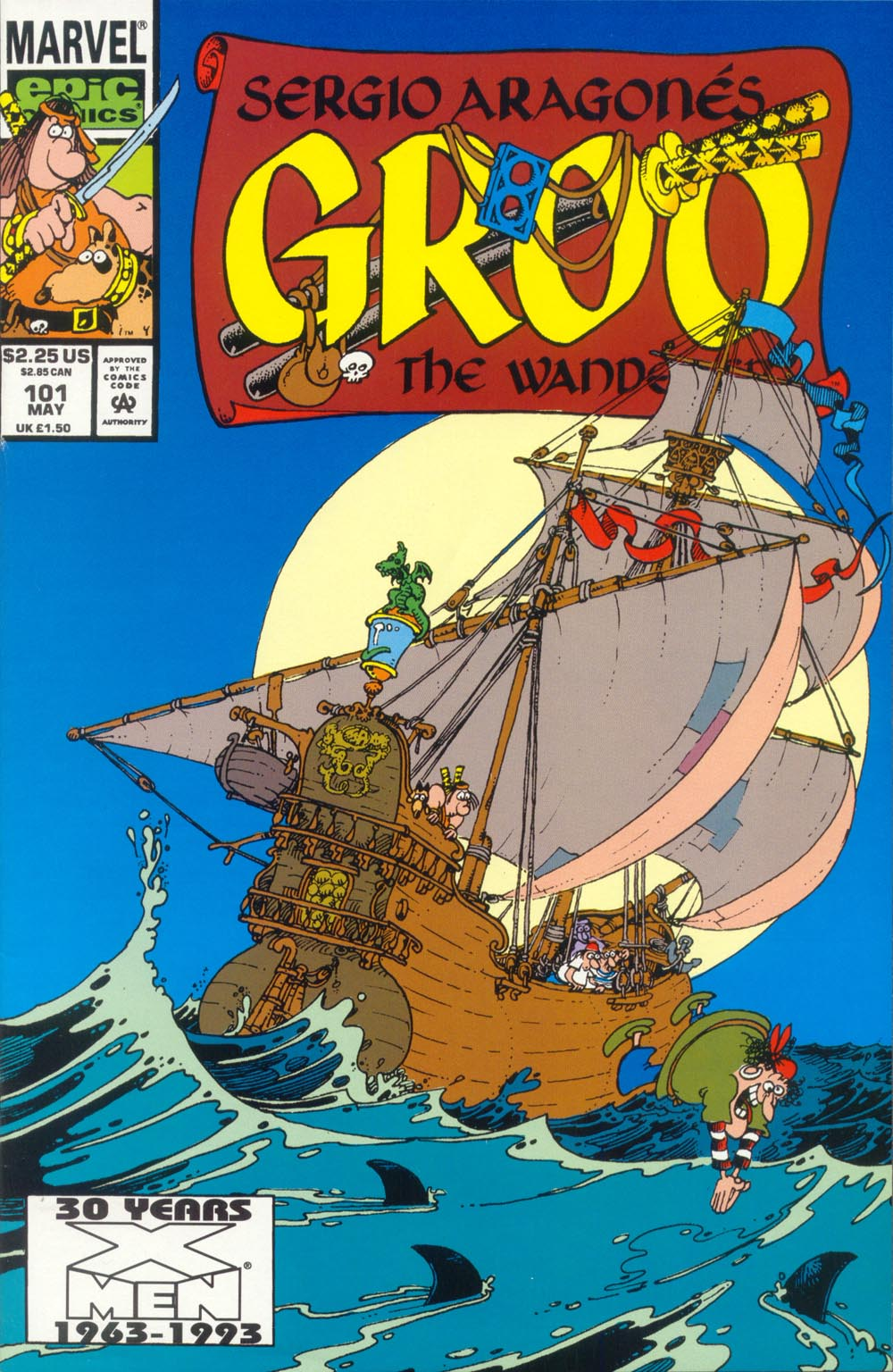 Read online Sergio Aragonés Groo the Wanderer comic -  Issue #101 - 1
