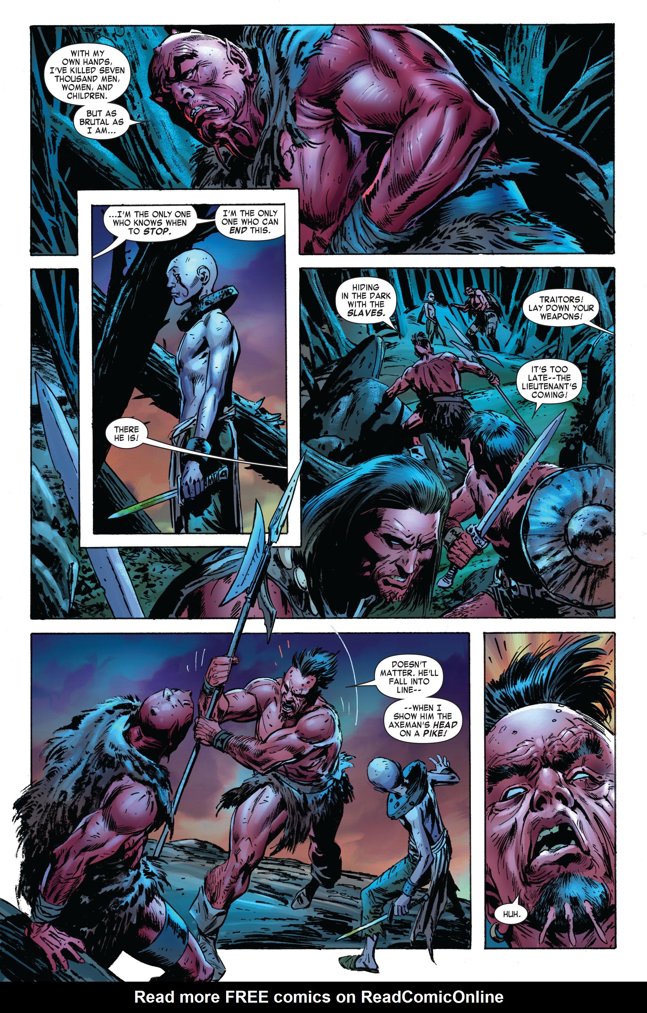 Read online Skaar: Son of Hulk comic -  Issue #3 - 22