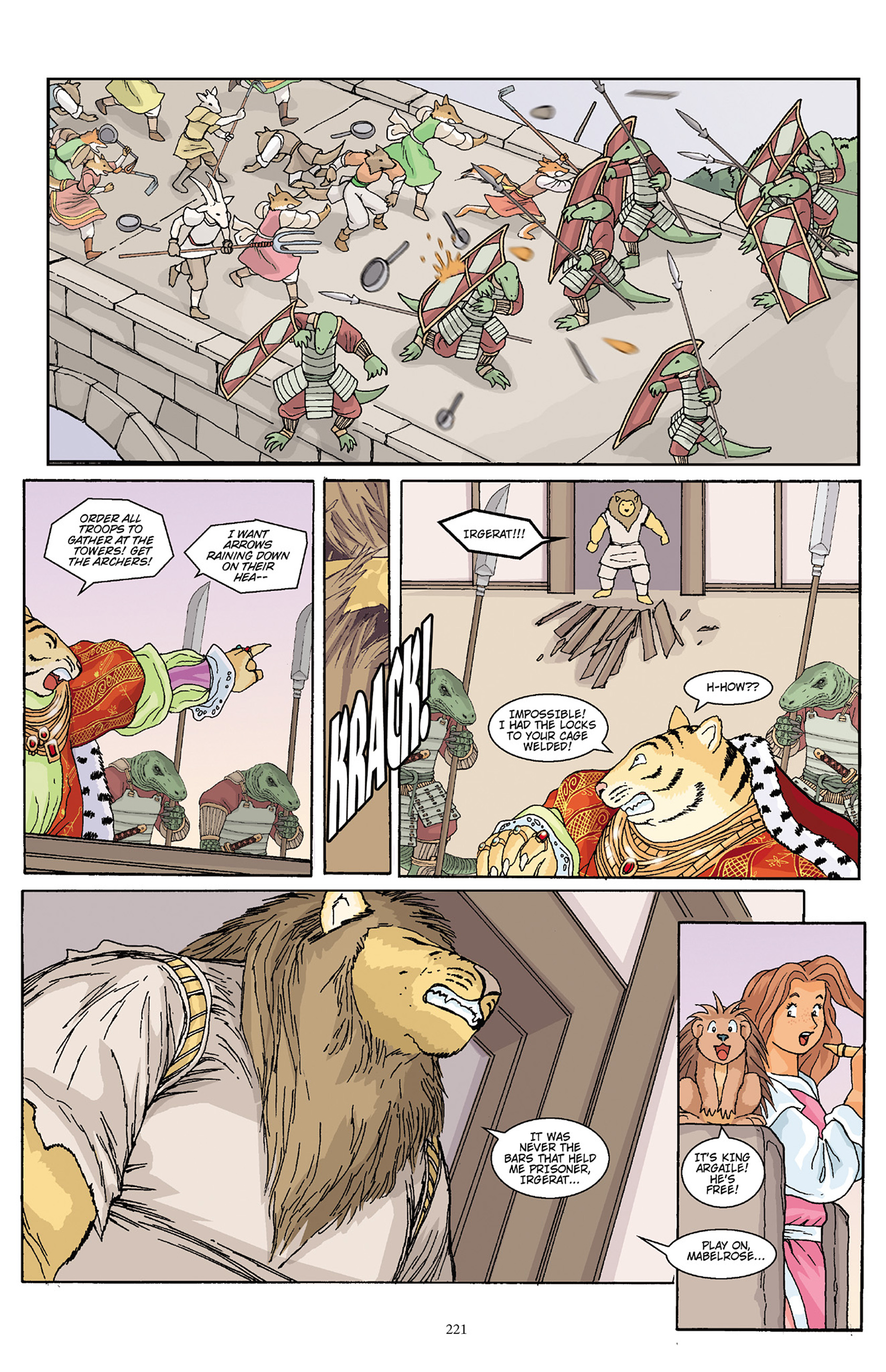 Read online Courageous Princess comic -  Issue # TPB 1 - 218