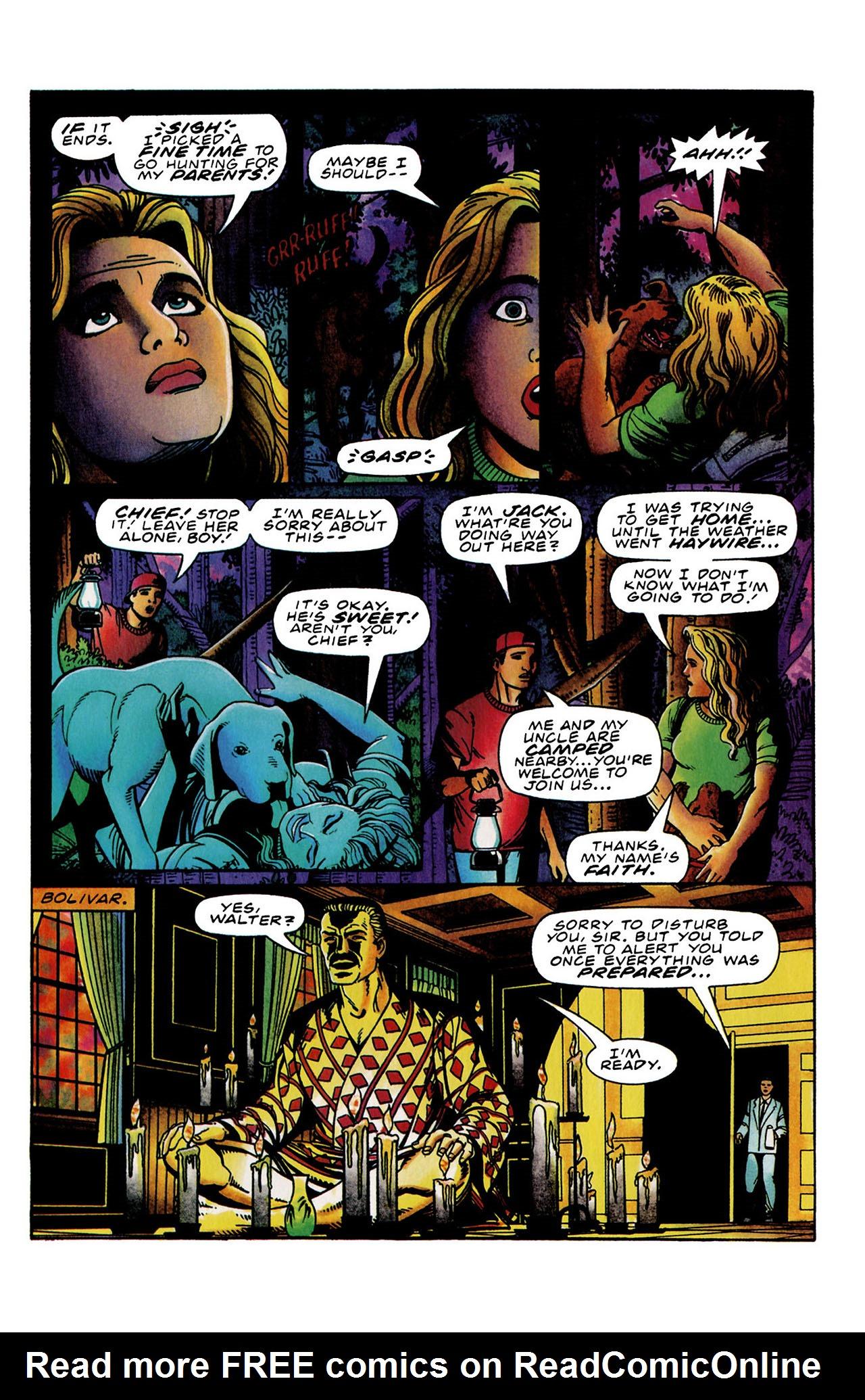 Read online Harbinger (1992) comic -  Issue #34 - 16