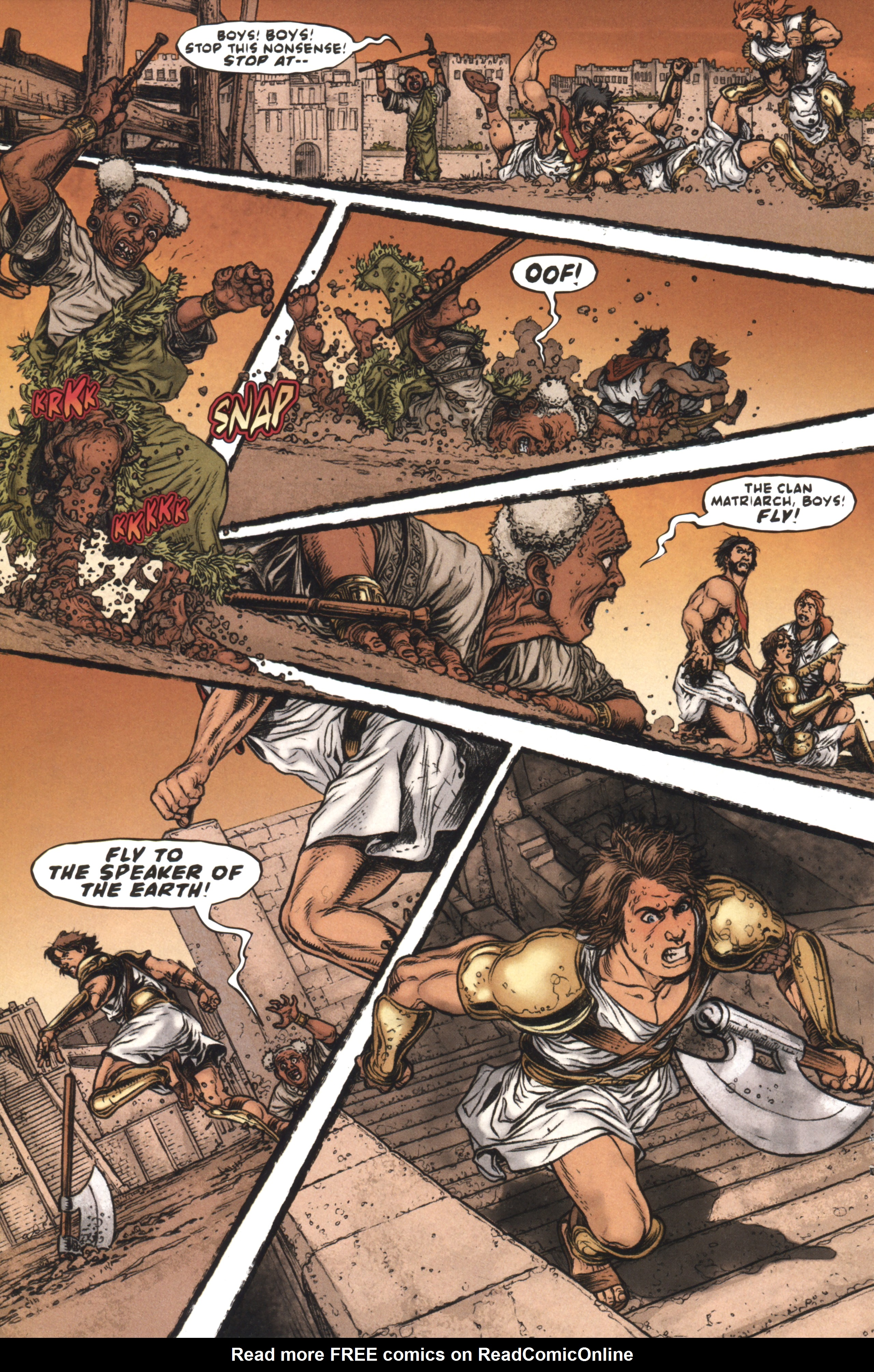 Read online Book of Death: Legends of the Geomancer comic -  Issue #4 - 15