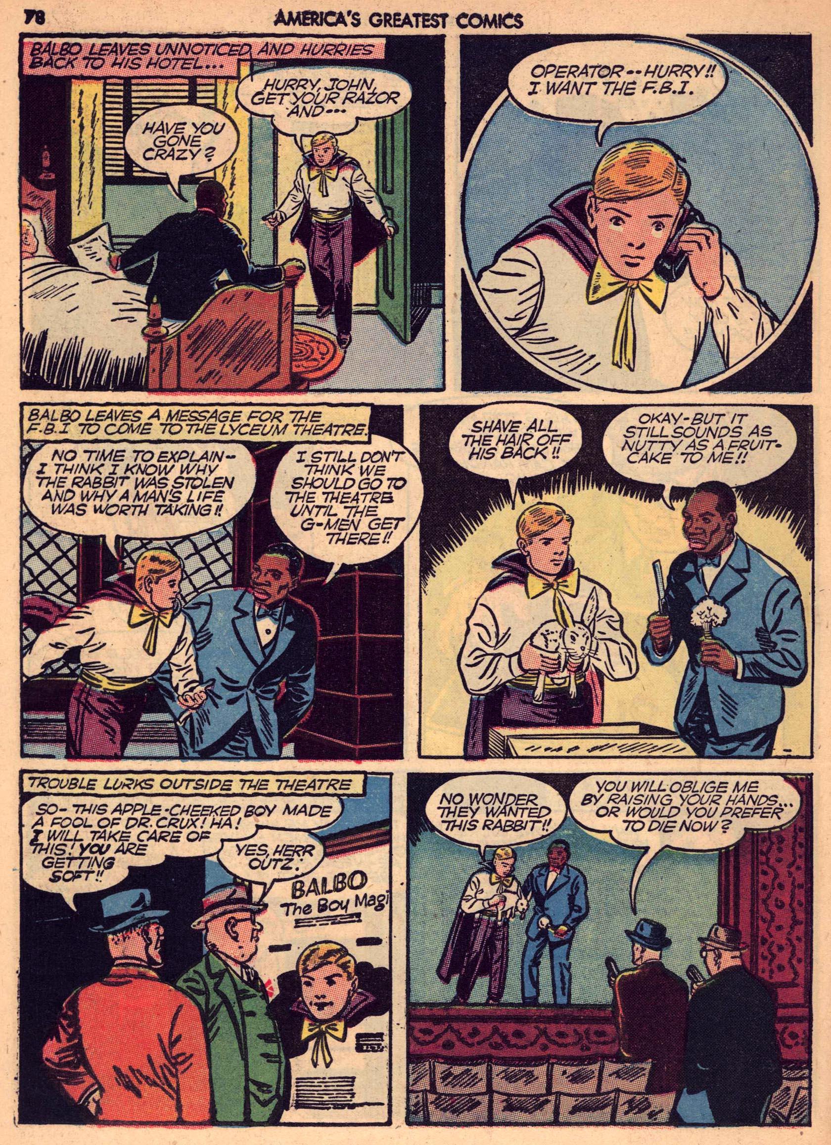 Read online America's Greatest Comics comic -  Issue #7 - 77