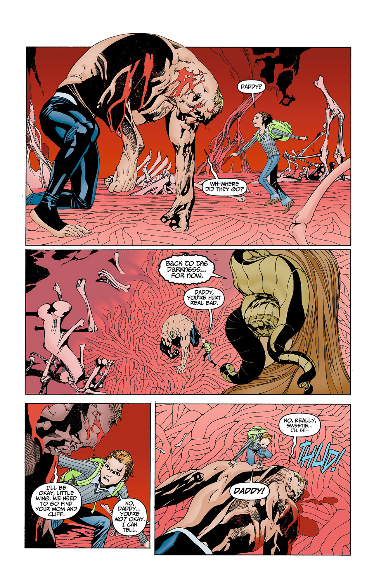 Read online Animal Man (2011) comic -  Issue #4 - 6
