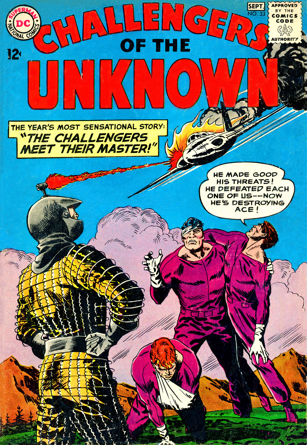 Challengers of the Unknown (1958) 33 Page 1