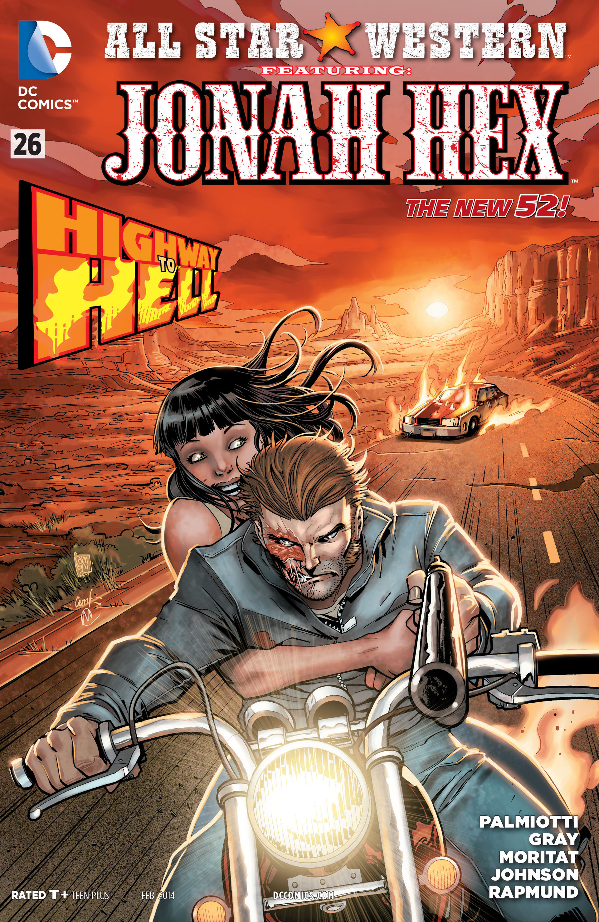 Read online All-Star Western (2011) comic -  Issue #26 - 1