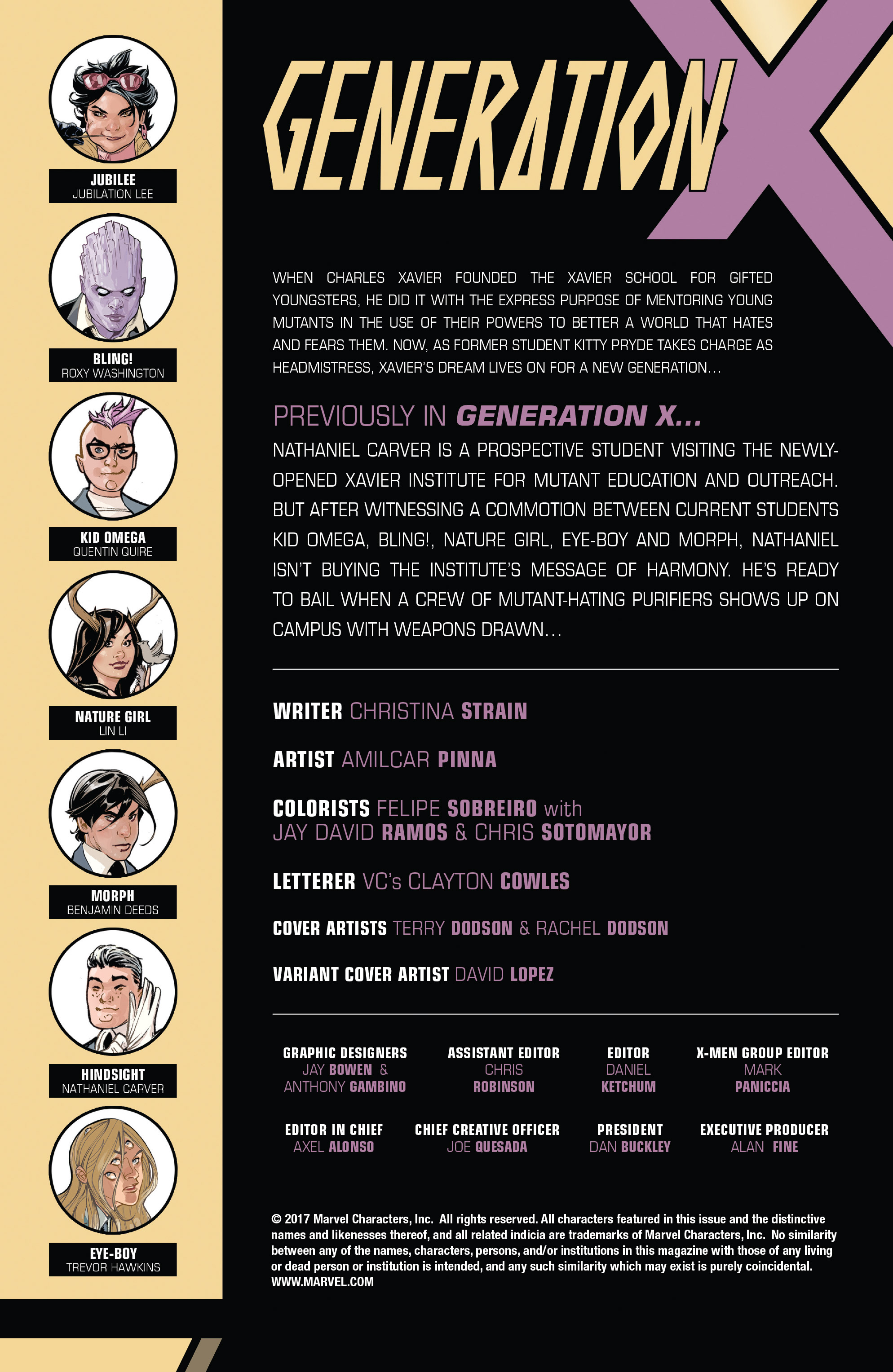 Read online Generation X (2017) comic -  Issue #2 - 2