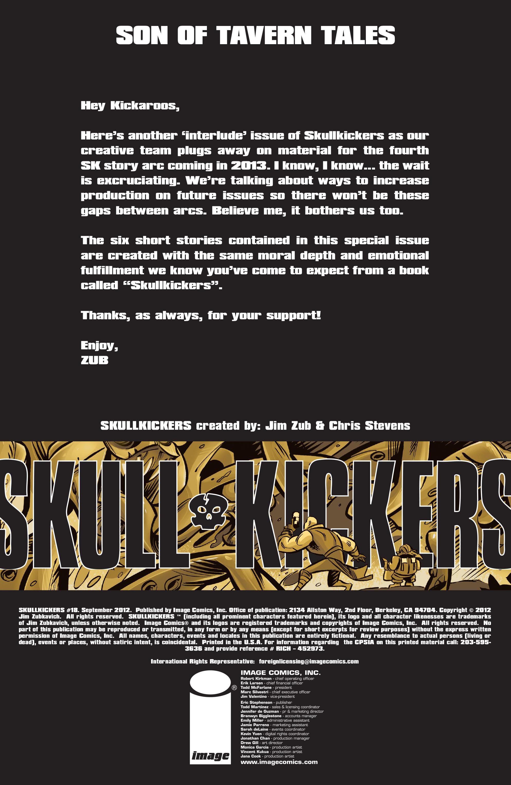 Read online Skullkickers comic -  Issue #18 - 2