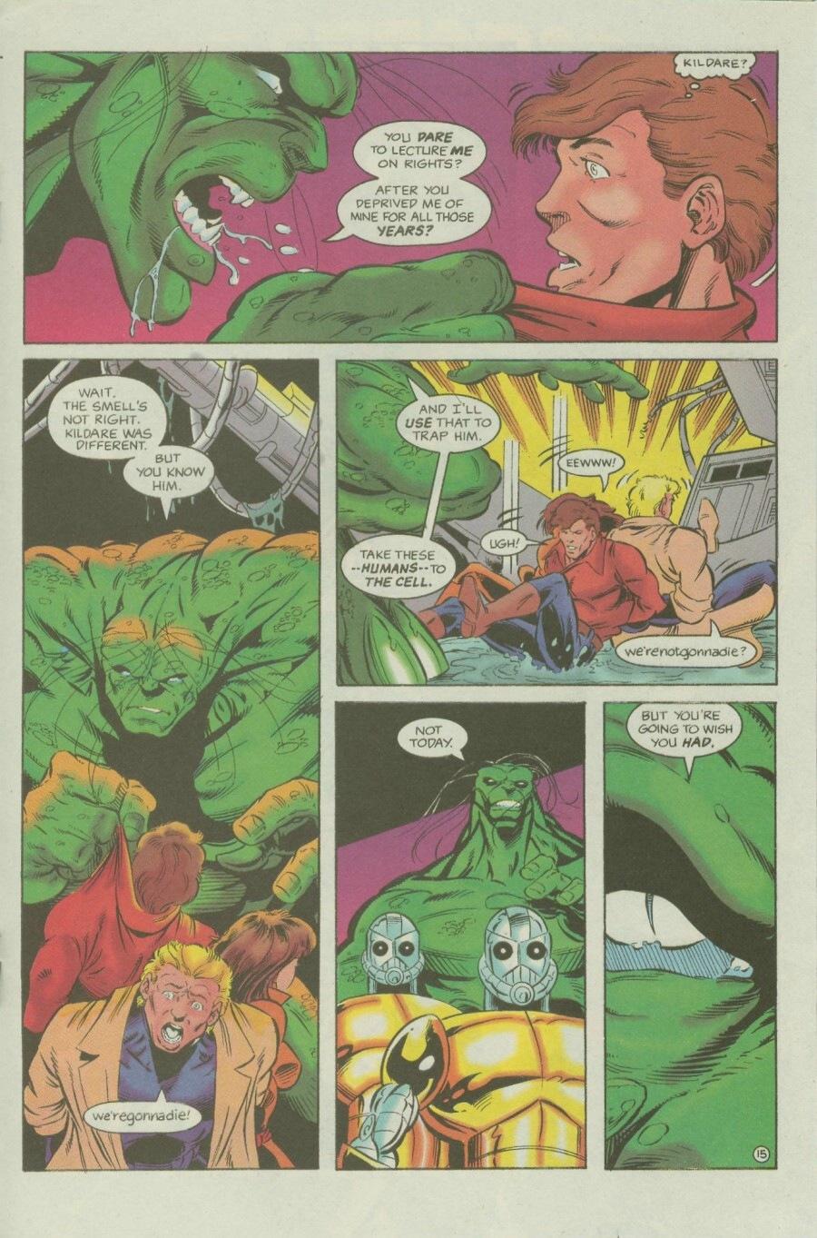 Read online Ex-Mutants comic -  Issue #6 - 19