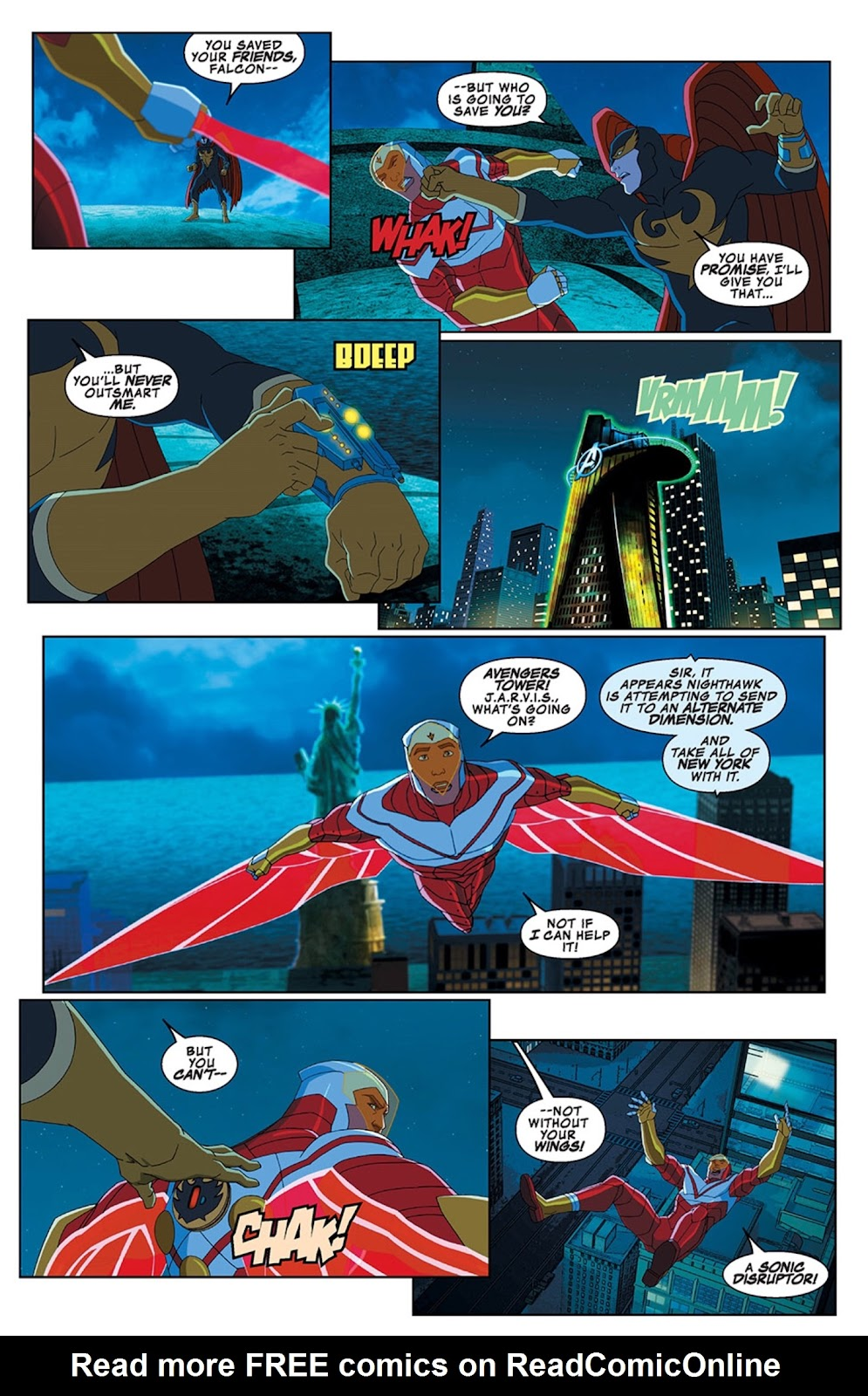 Read online Marvel Universe Avengers Assemble Season 2 comic -  Issue #13 - 16