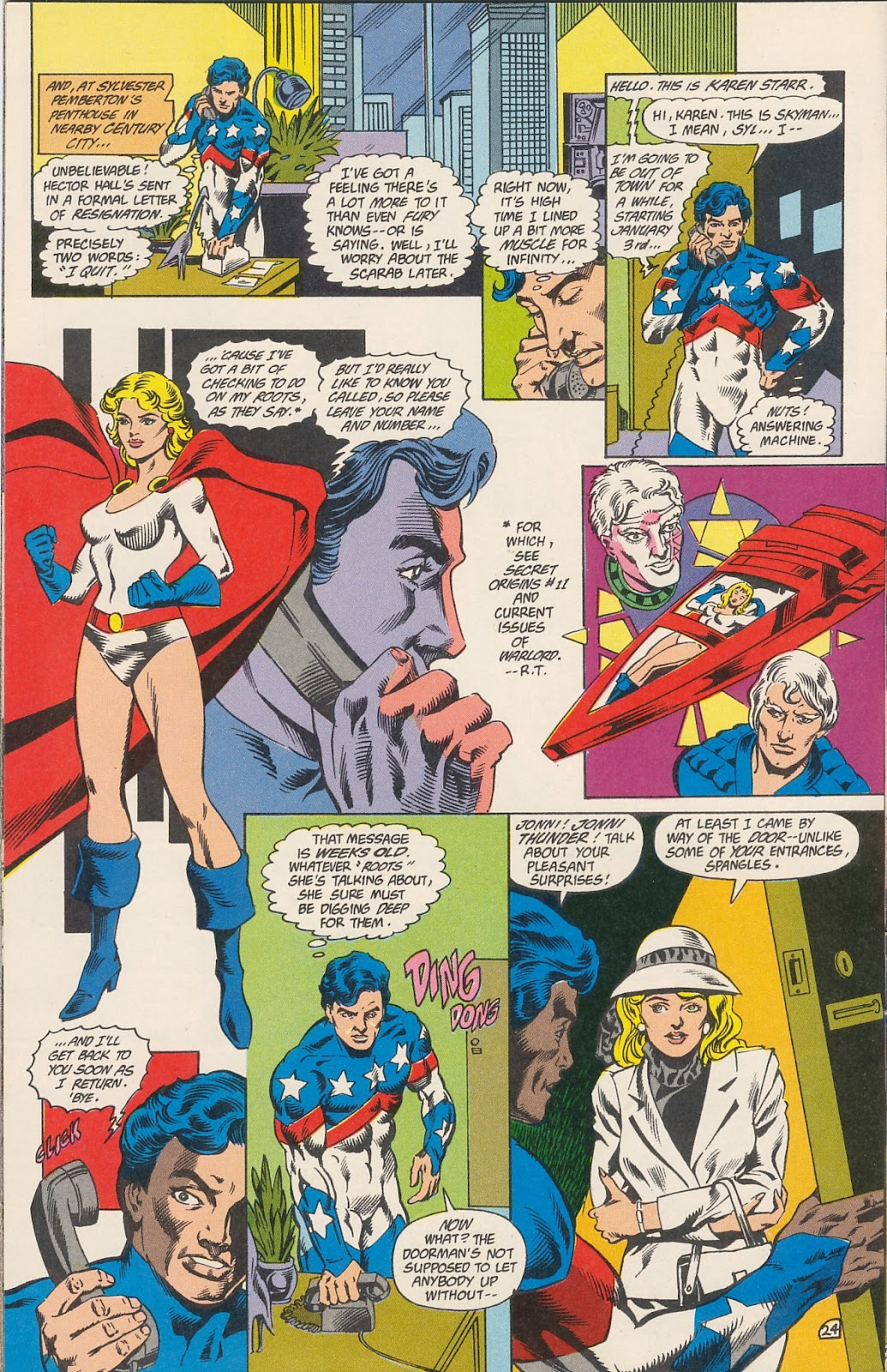 Infinity Inc. (1984) issue 40 - Page 26