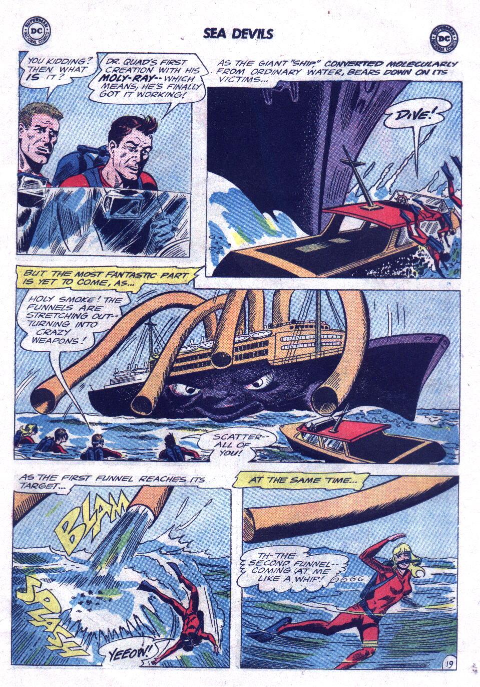 Read online Sea Devils comic -  Issue #21 - 27