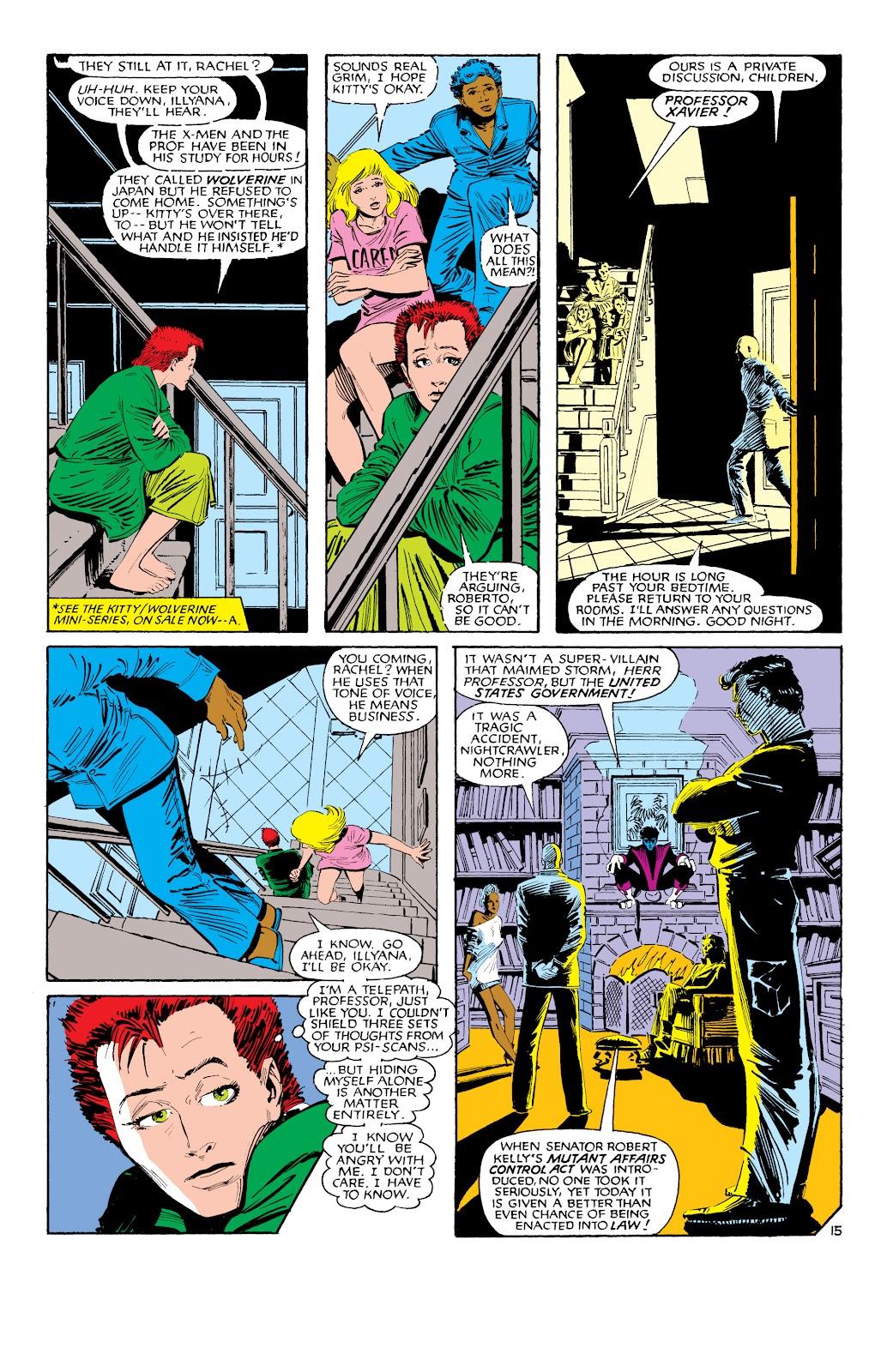 Uncanny X-Men (1963) issue 188 - Page 16
