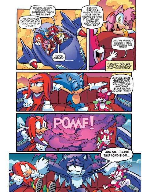 Read online Sonic Comics Spectacular: Speed of Sound comic -  Issue # Full - 77