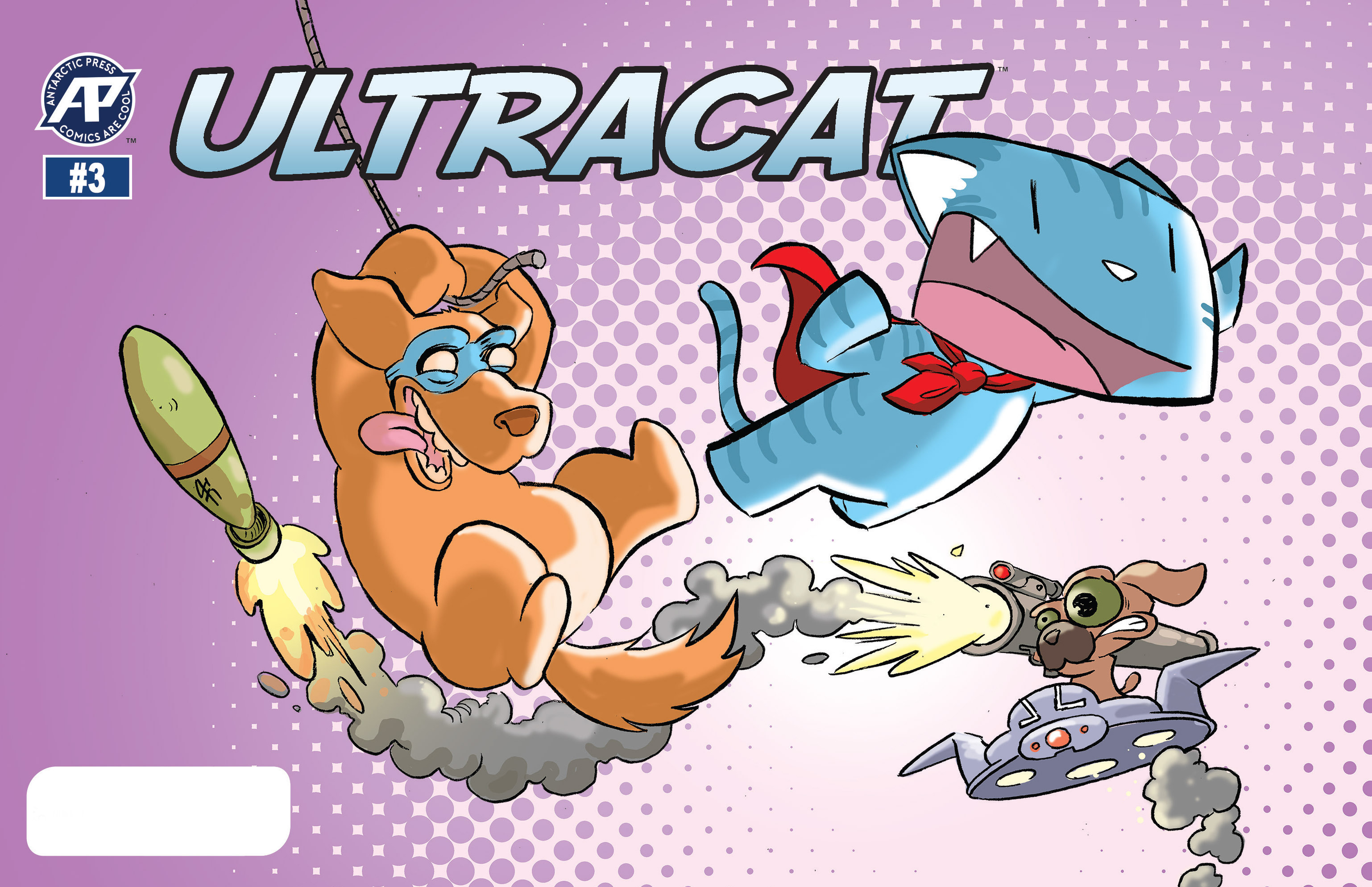 Read online Ultracat comic -  Issue #3 - 1