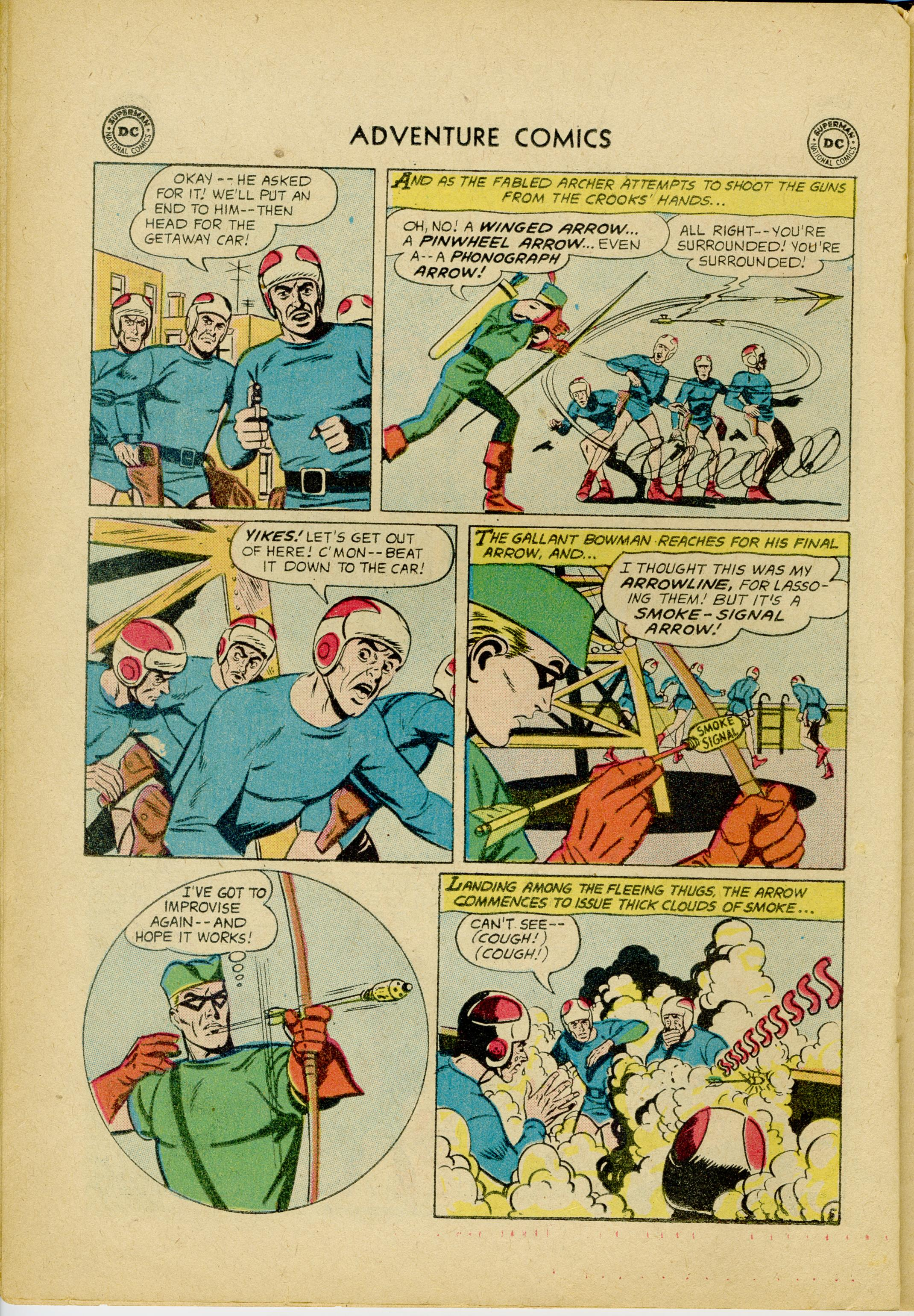 Read online Adventure Comics (1938) comic -  Issue #245 - 22