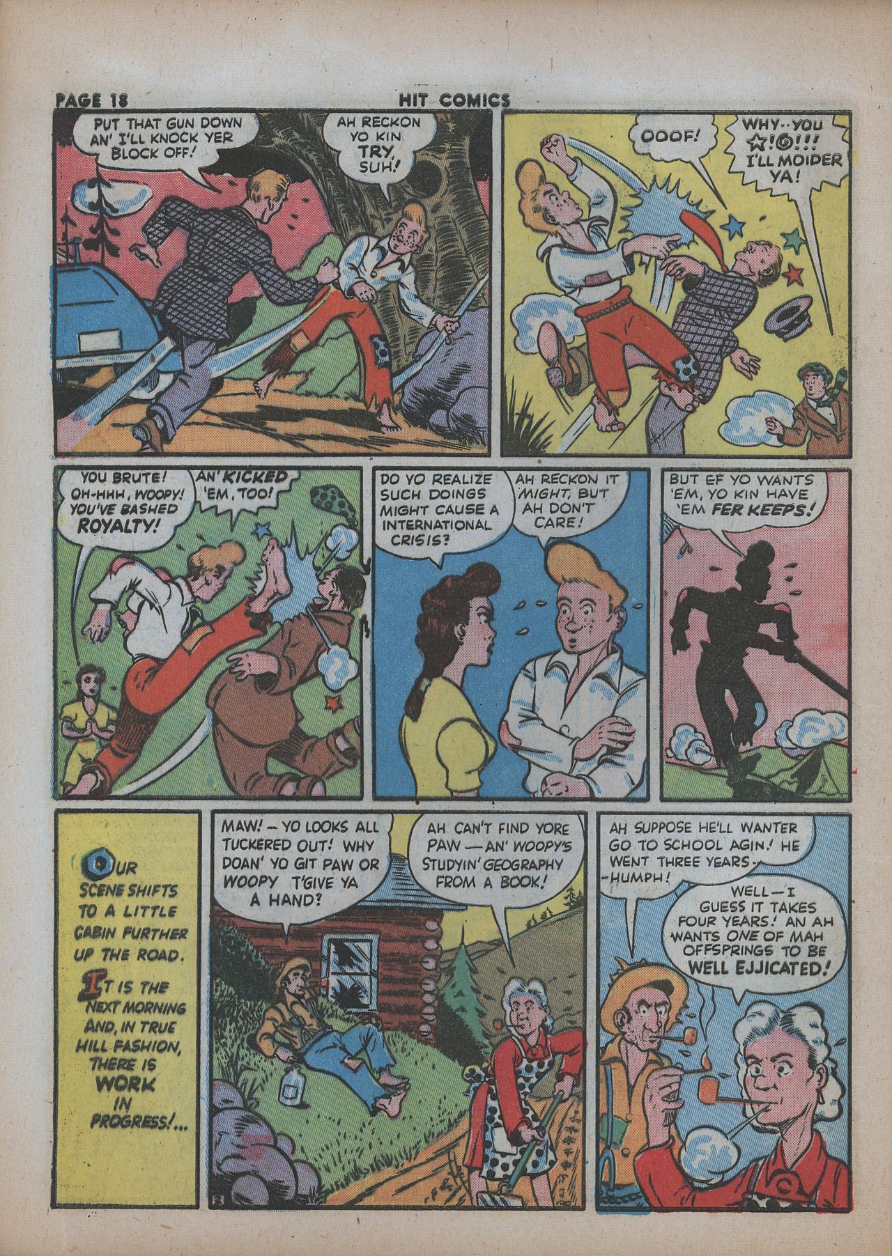 Read online Hit Comics comic -  Issue #26 - 20
