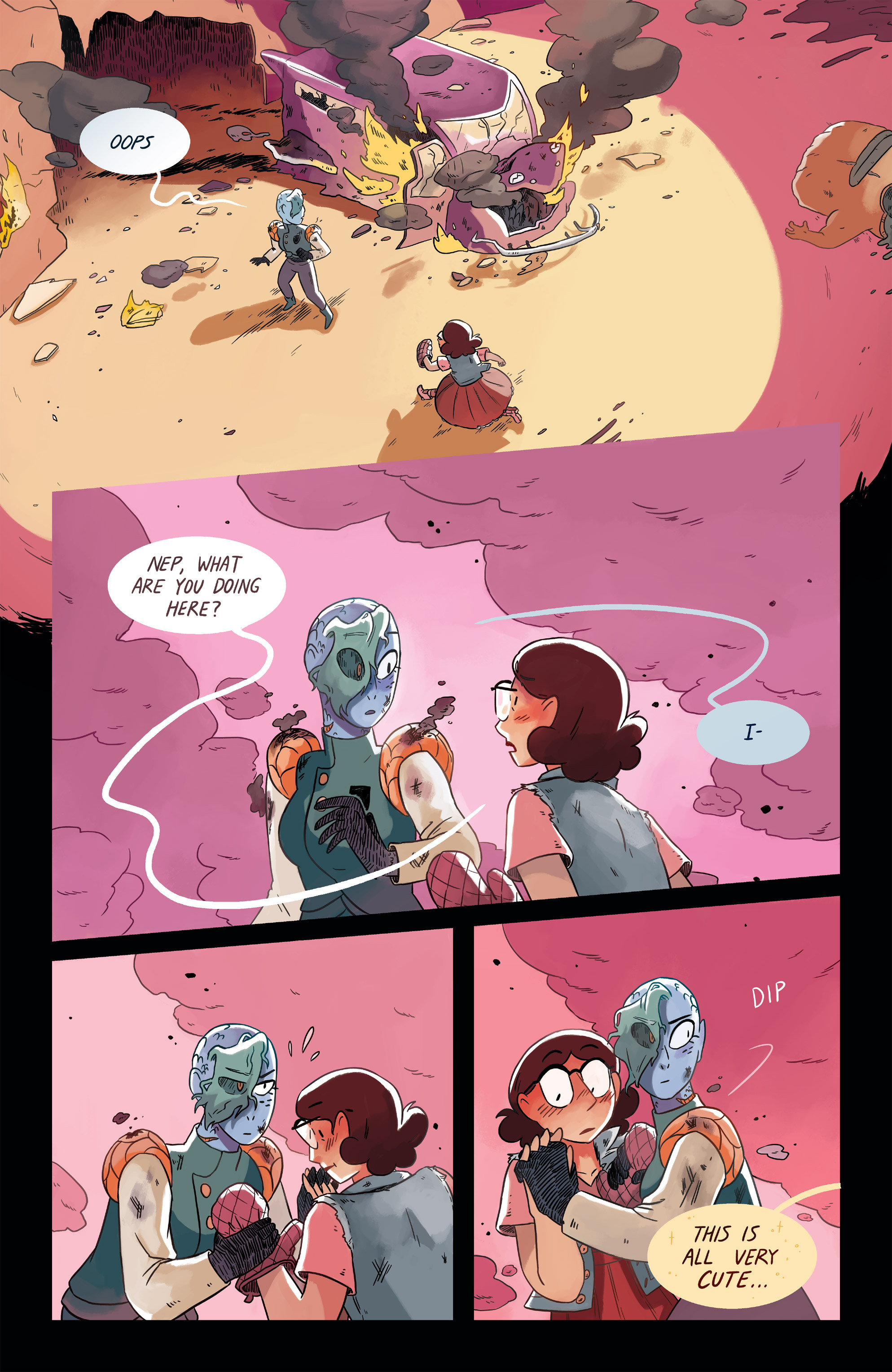 Read online Space Battle Lunchtime comic -  Issue #6 - 21