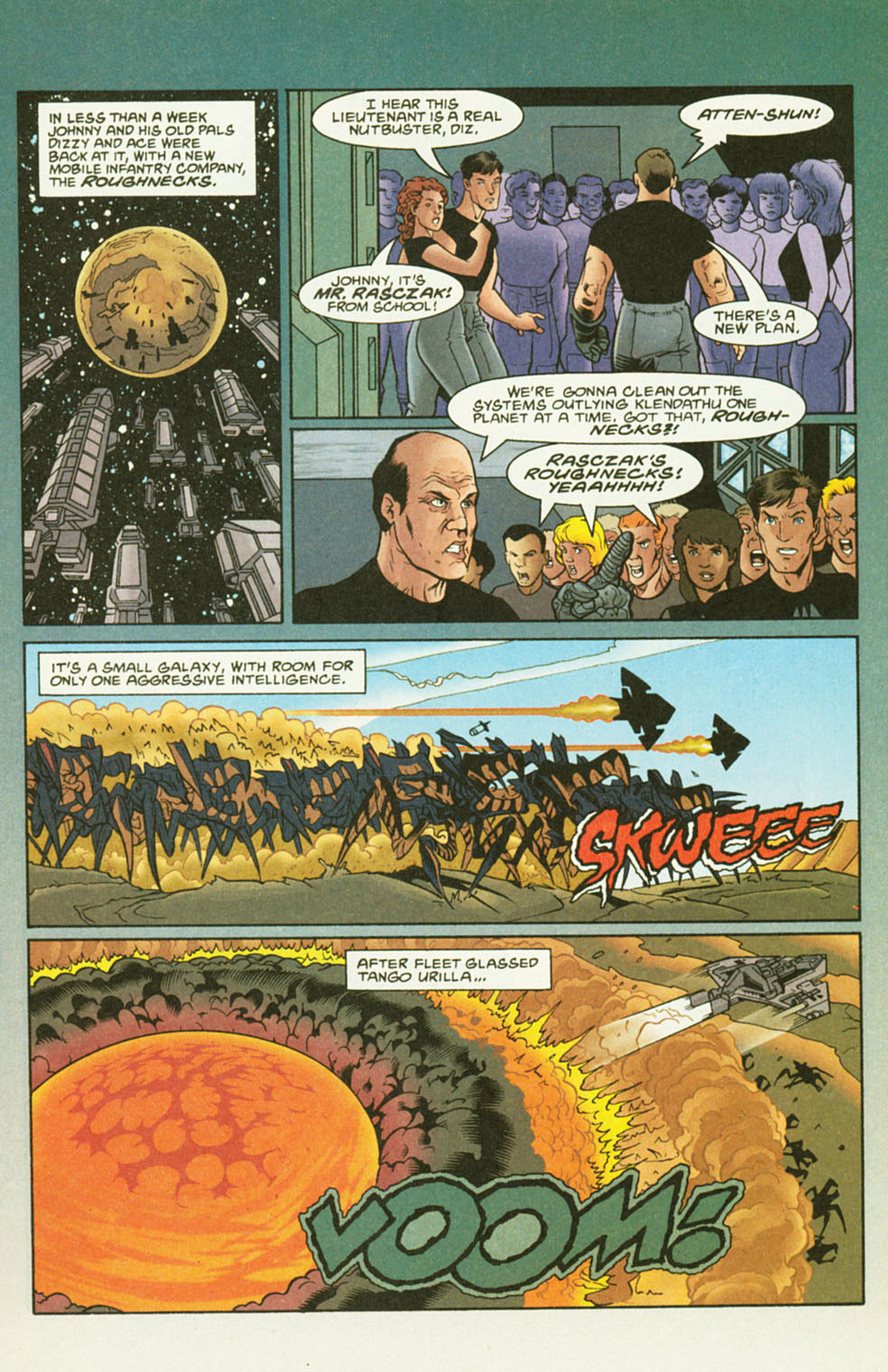 Read online Starship Troopers comic -  Issue #2 - 5