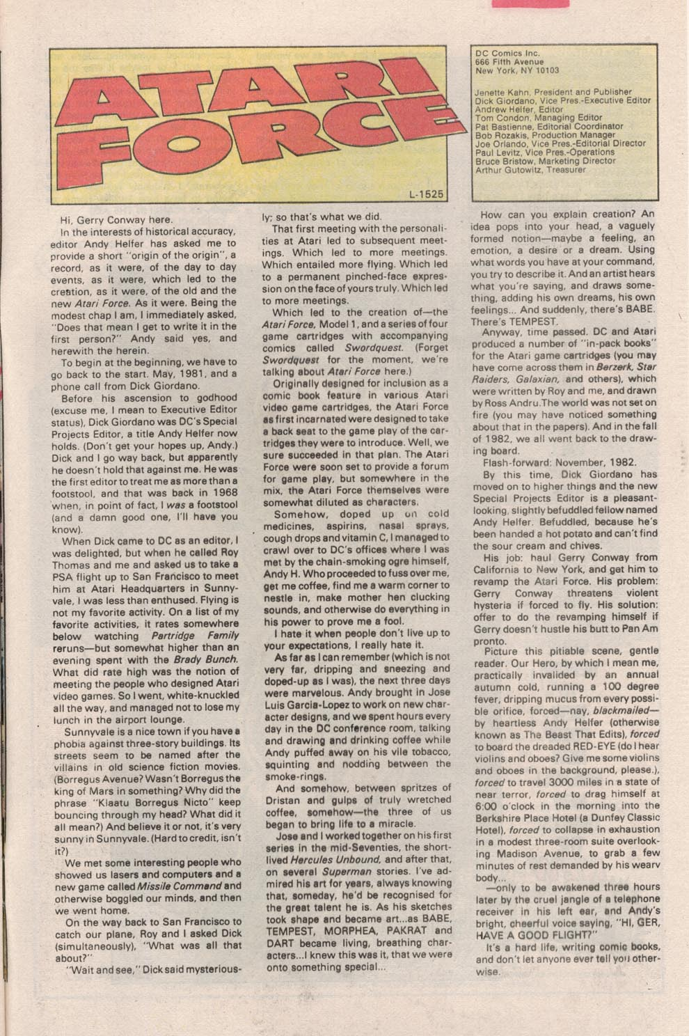 Read online Atari Force (1984) comic -  Issue #2 - 27