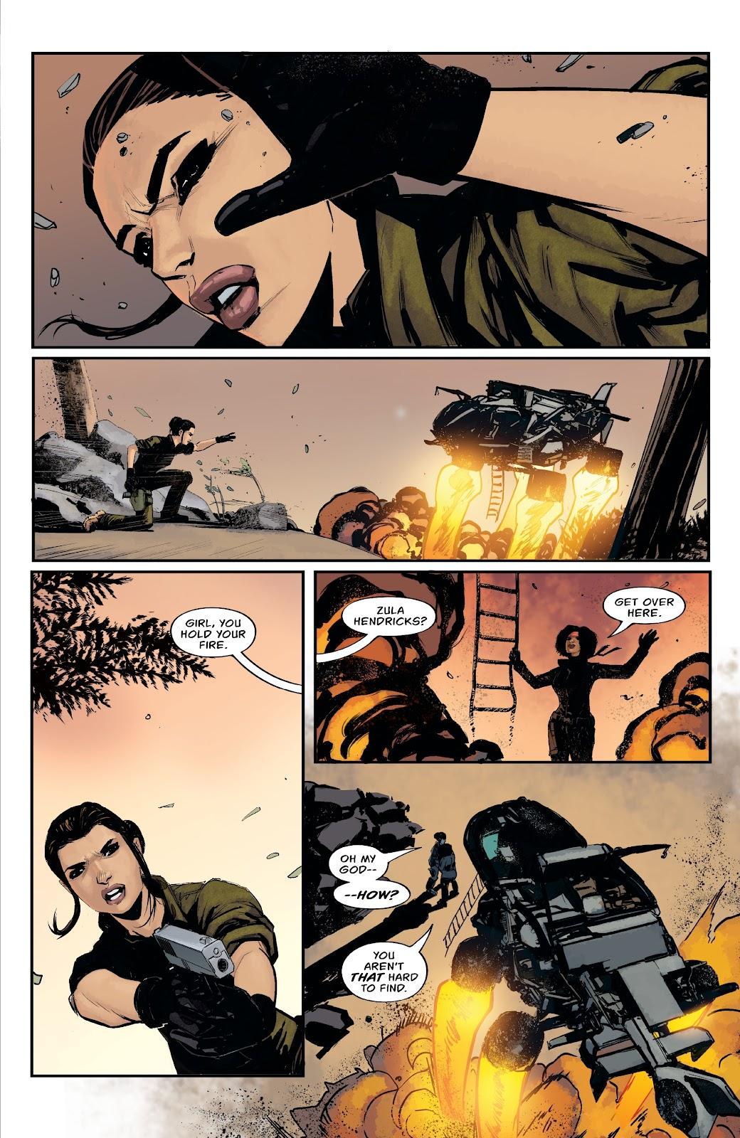 Read online Aliens: Resistance comic -  Issue #1 - 5