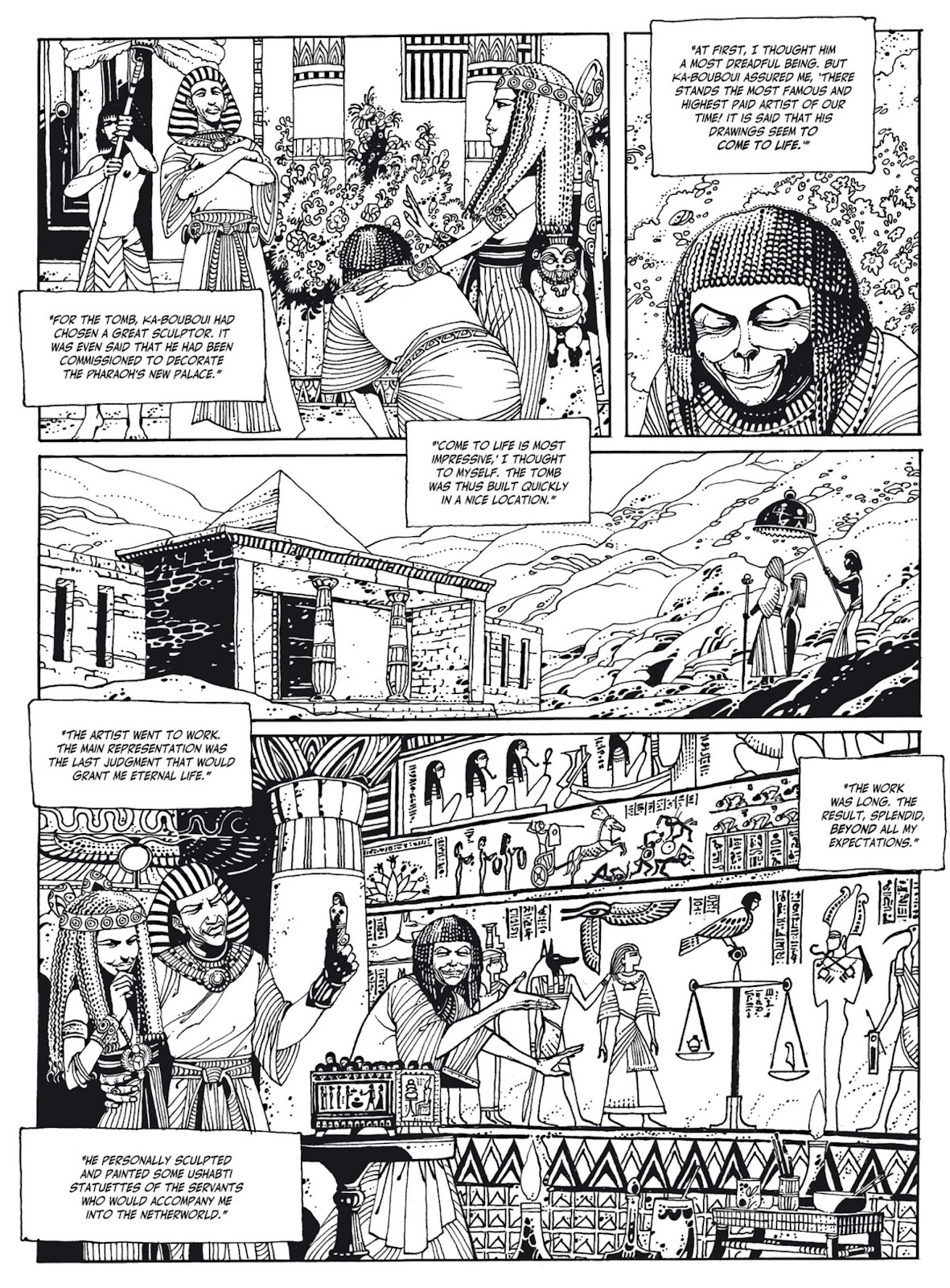 Read online The Egyptian Princesses comic -  Issue # TPB 1 (Part 1) - 49