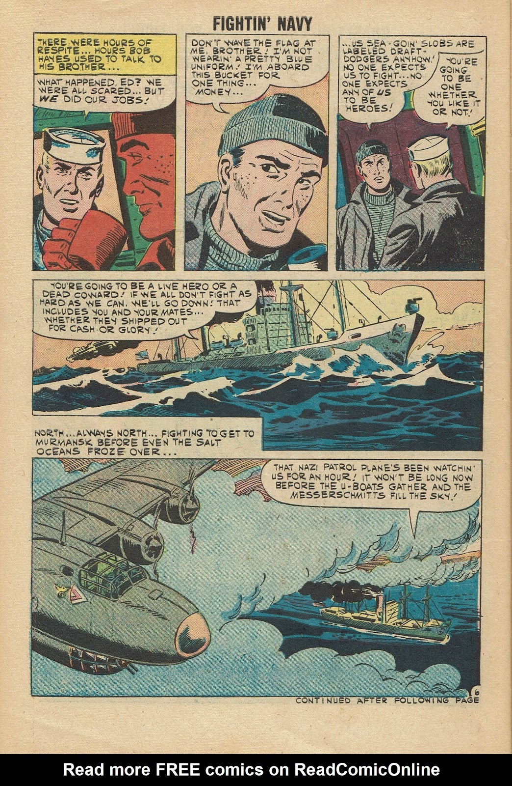 Read online Fightin' Navy comic -  Issue #96 - 30