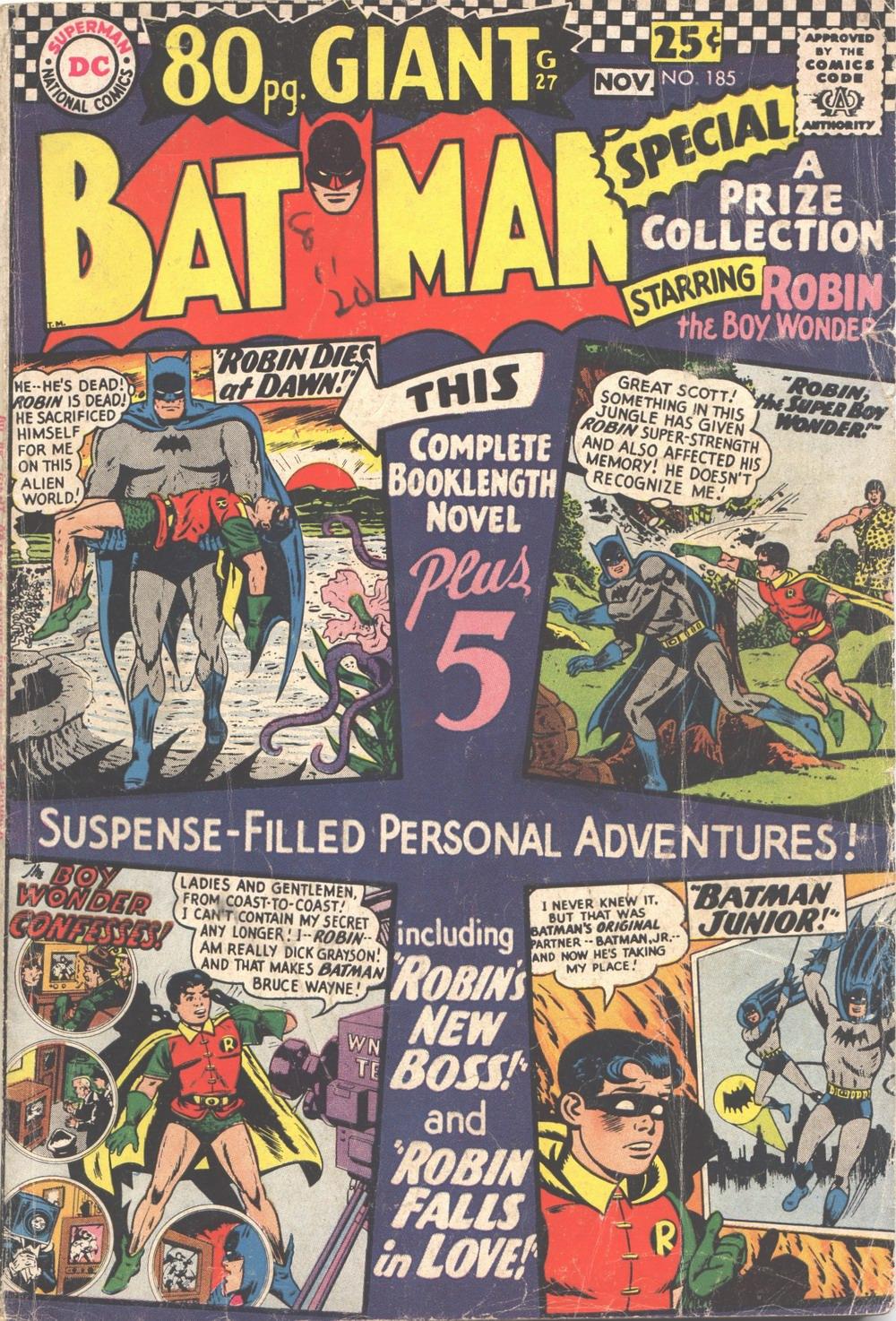 Batman (1940) 185 Page 1