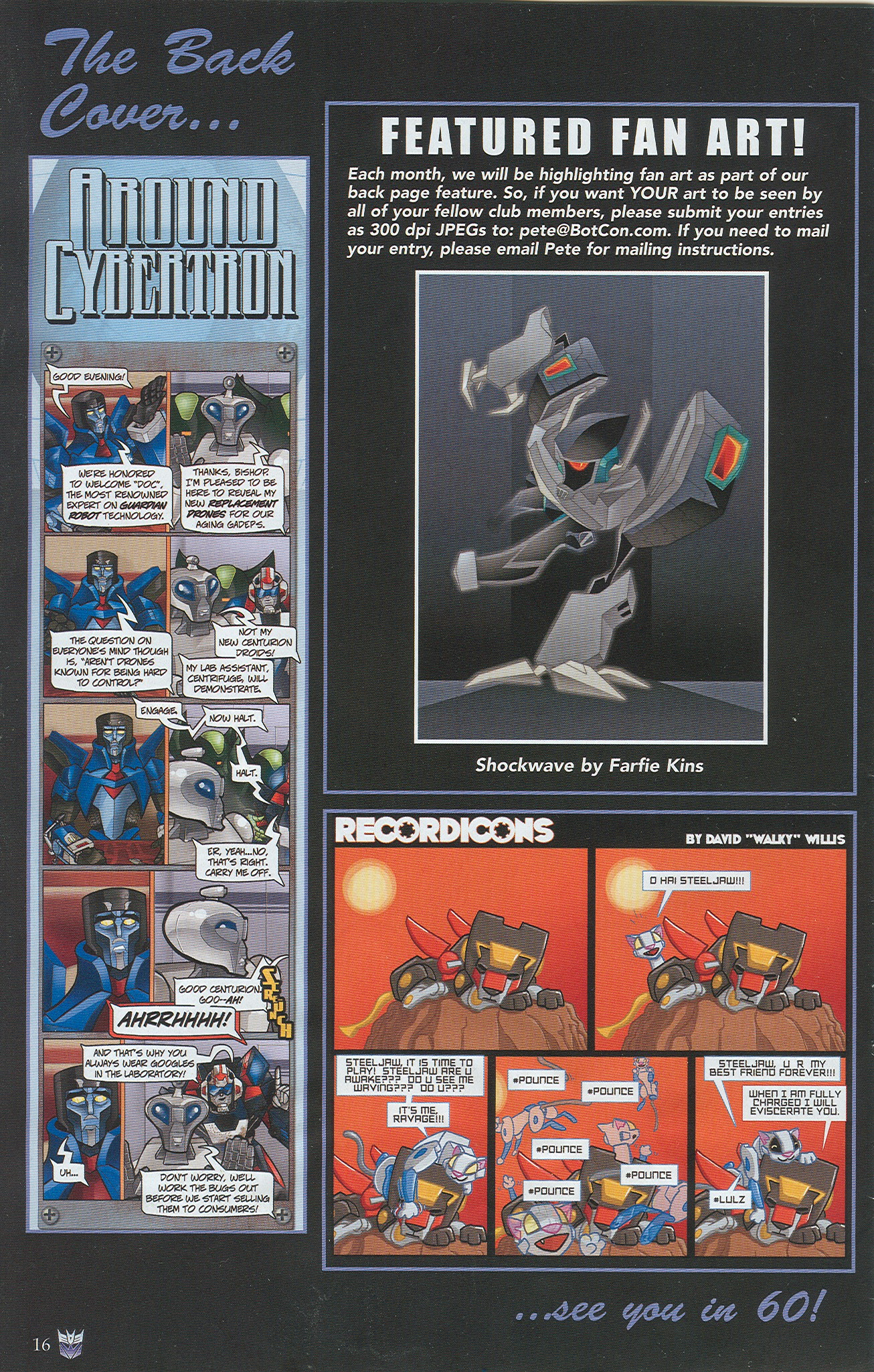 Read online Transformers: Collectors' Club comic -  Issue #34 - 16