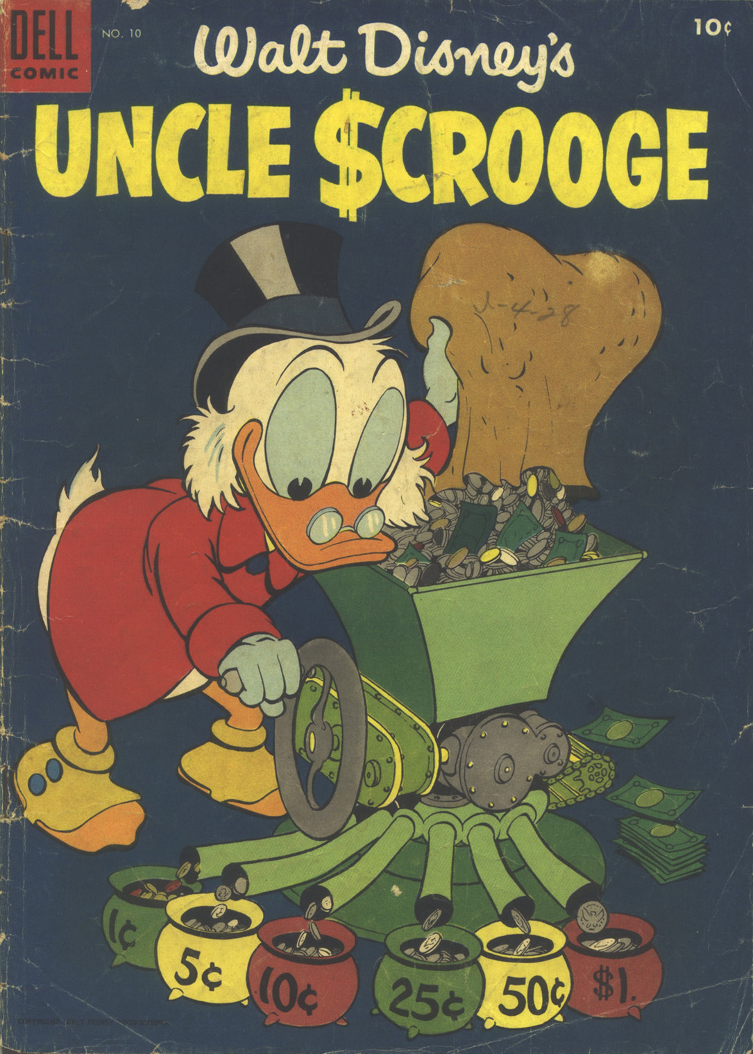 Read online Uncle Scrooge (1953) comic -  Issue #10 - 1