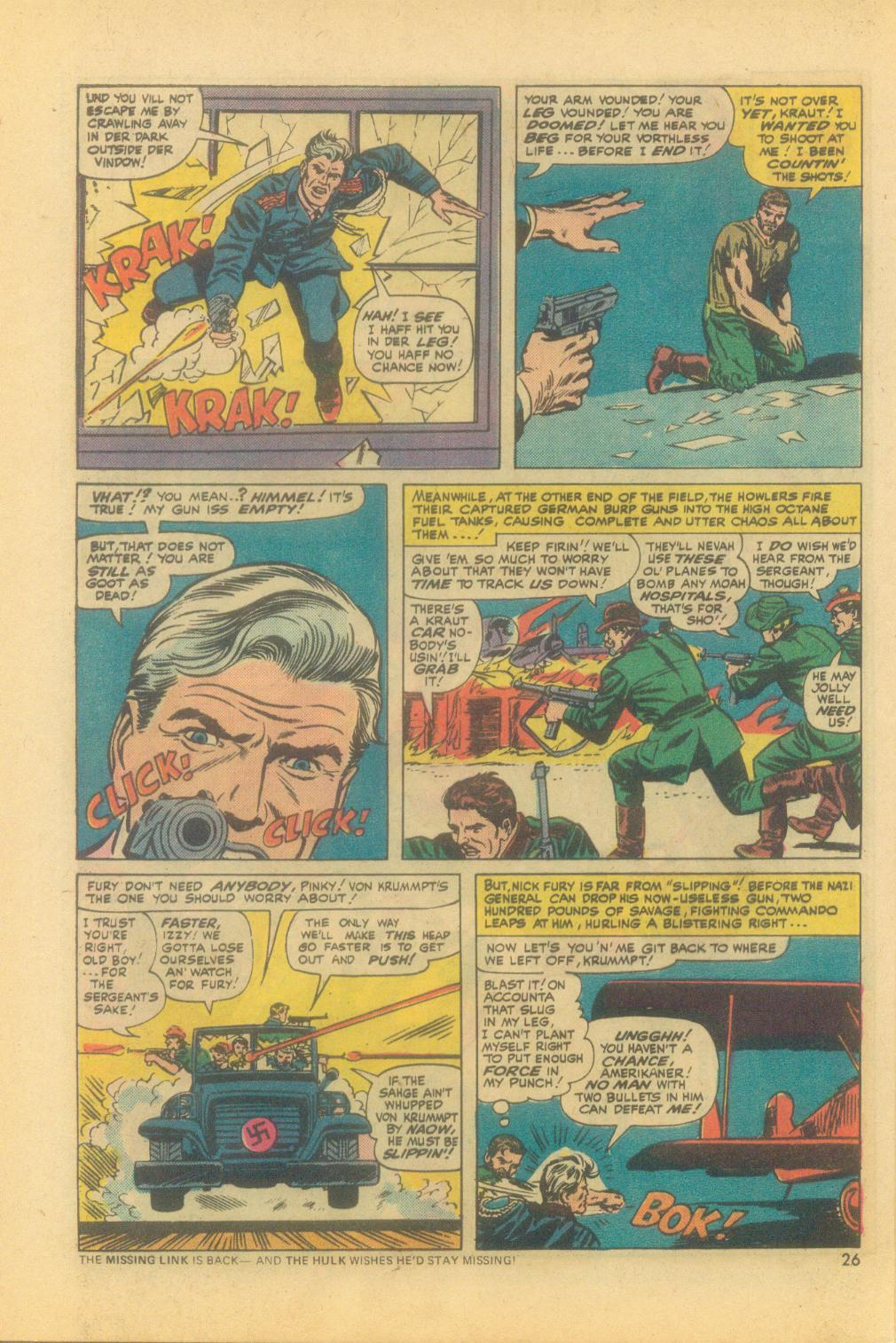 Read online Sgt. Fury comic -  Issue #121 - 28