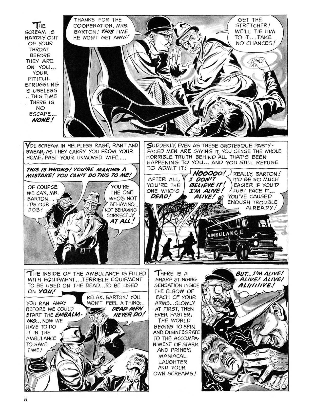 Read online Eerie Archives comic -  Issue # TPB 2 - 37