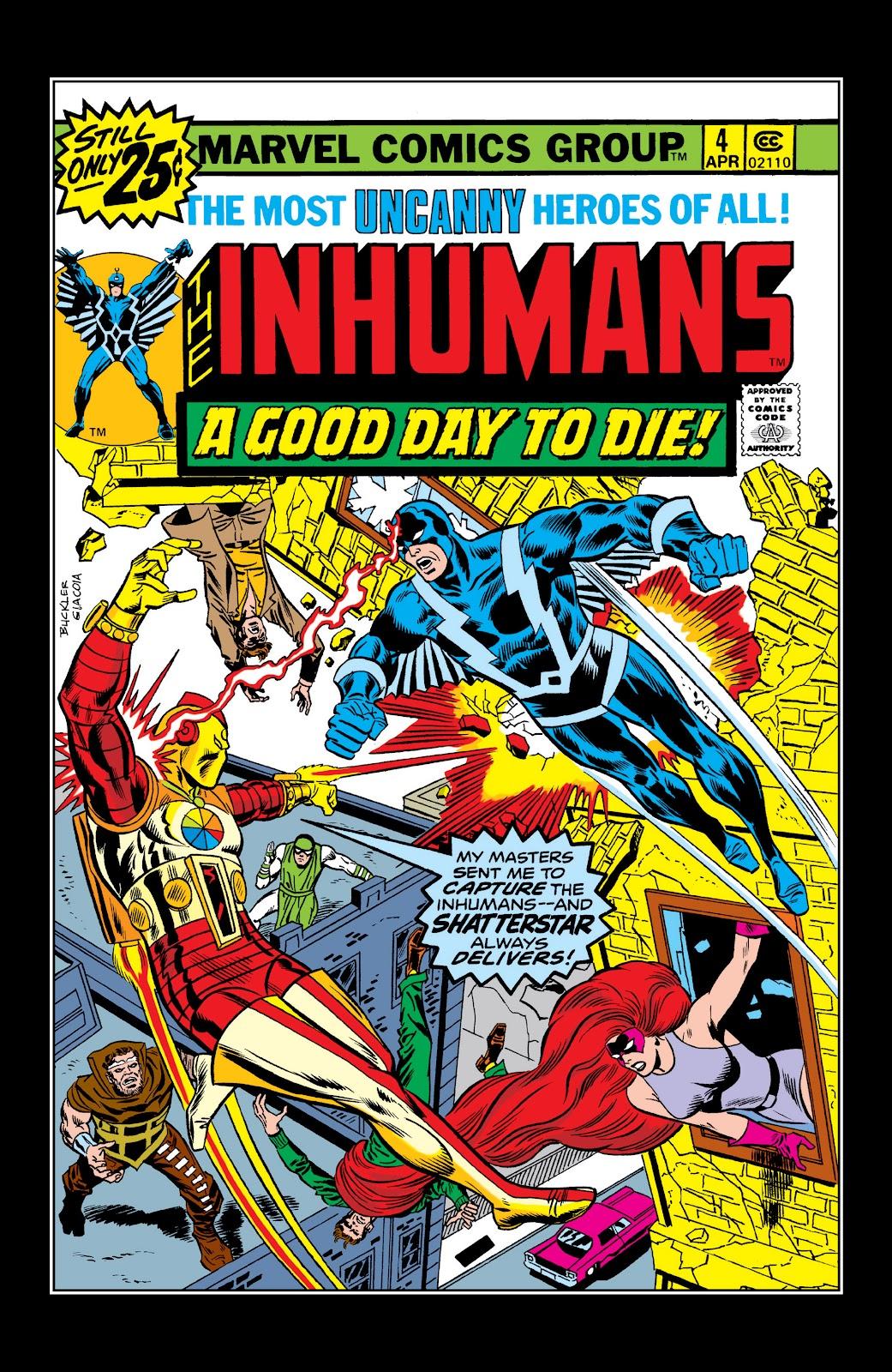 Read online Marvel Masterworks: The Inhumans comic -  Issue # TPB 2 (Part 1) - 64