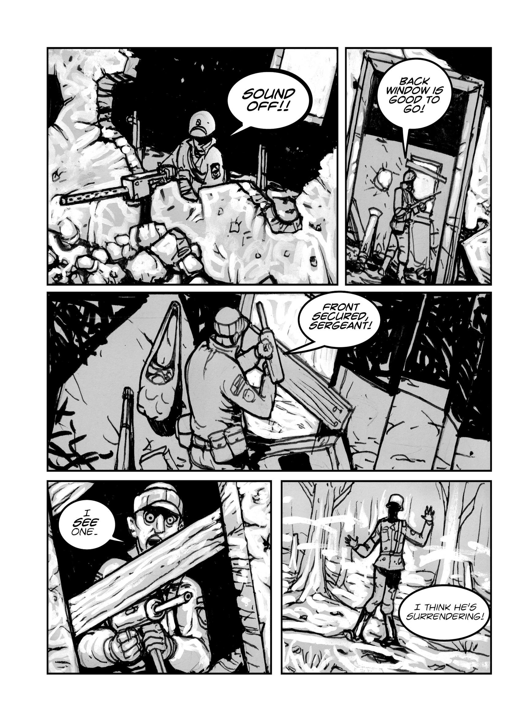 Read online FUBAR comic -  Issue #1 - 42
