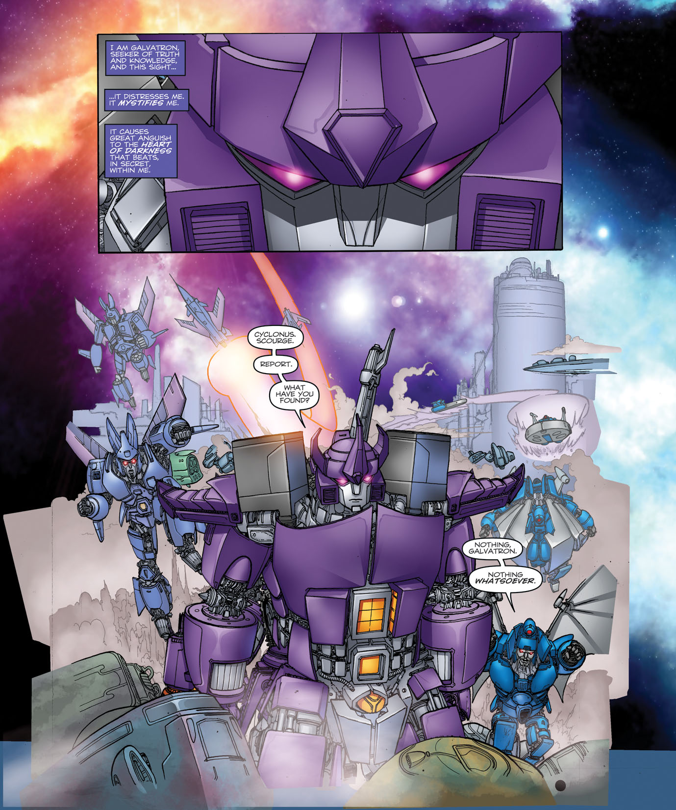 Read online Transformers: Heart of Darkness comic -  Issue #1 - 8