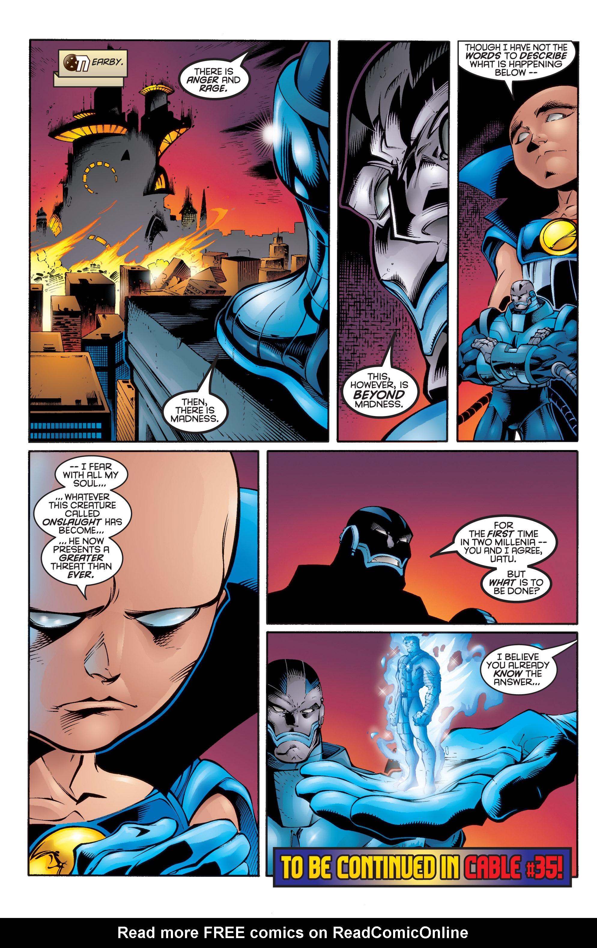Read online Uncanny X-Men (1963) comic -  Issue #336 - 22