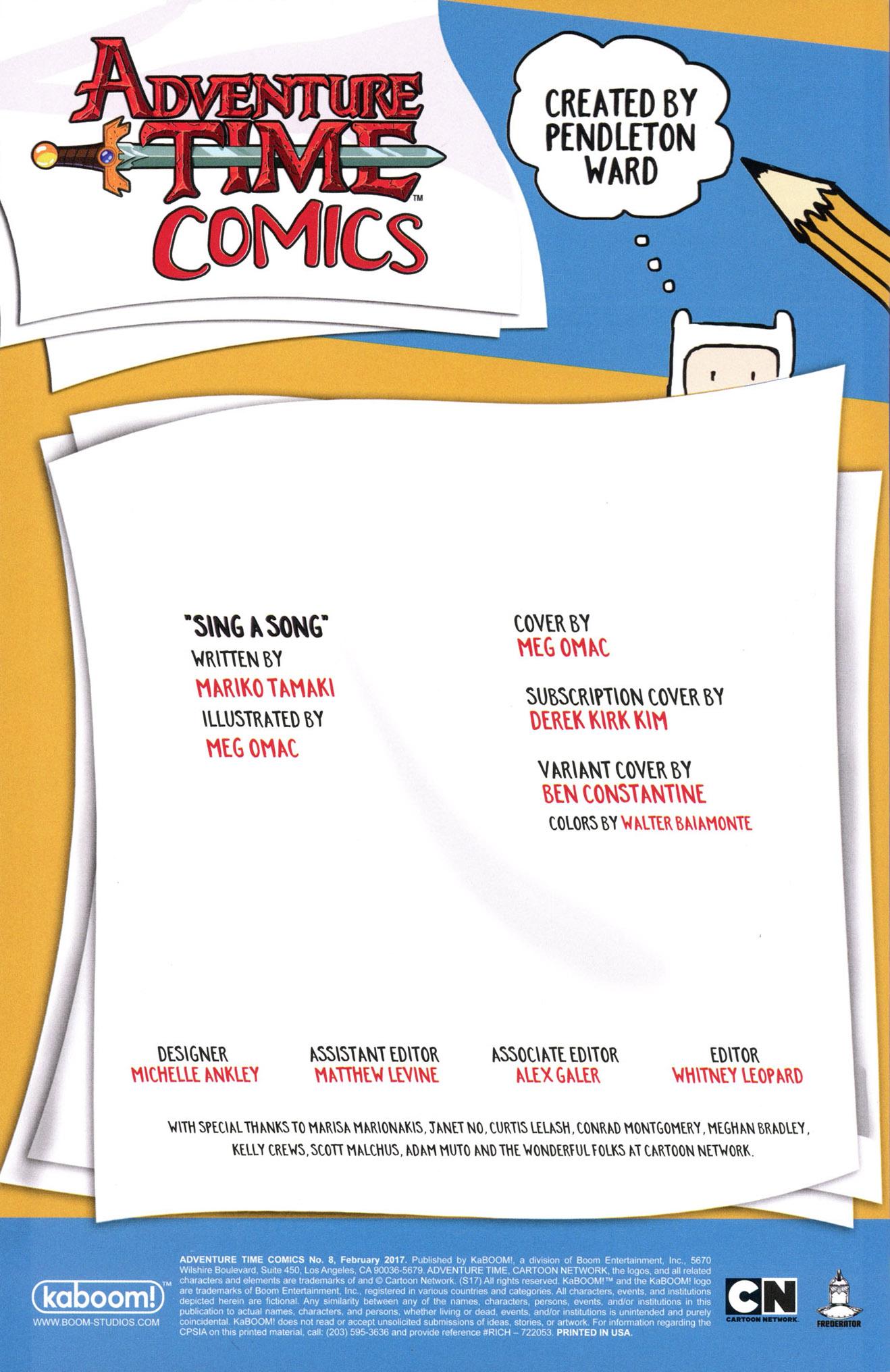 Read online Adventure Time Comics comic -  Issue #8 - 2