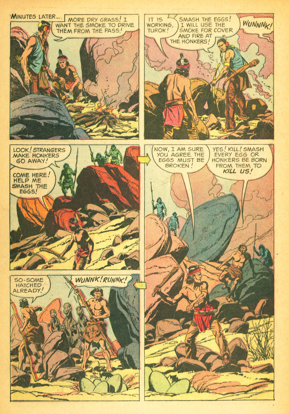 Read online Turok, Son of Stone comic -  Issue #27 - 32