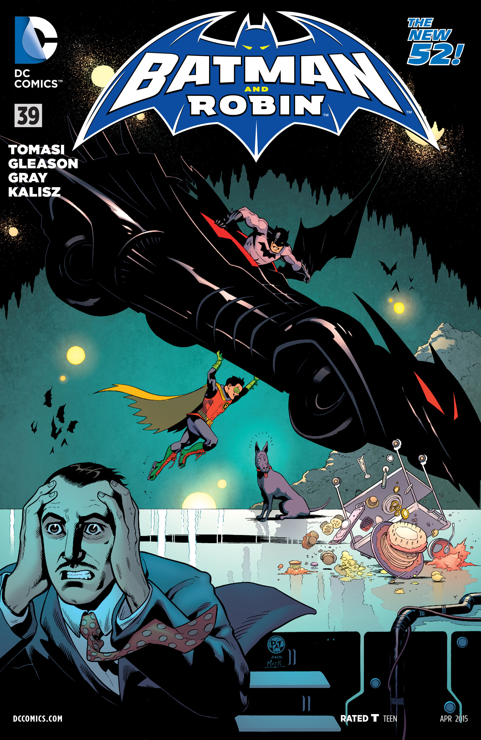 Read online Batman and Robin (2011) comic -  Issue #39 - 1