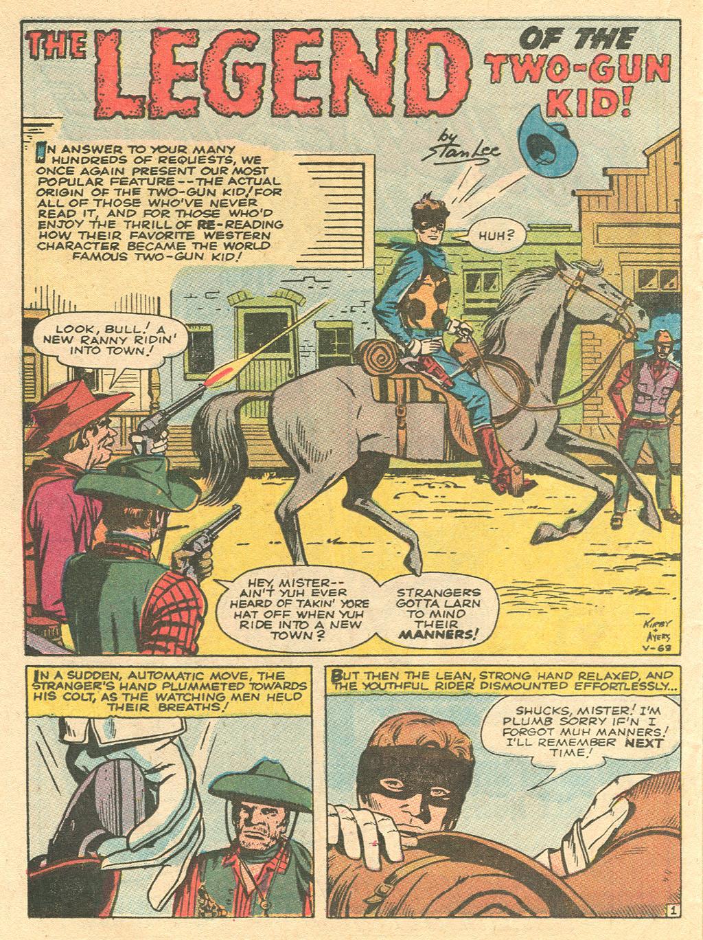Read online Two-Gun Kid comic -  Issue #101 - 24