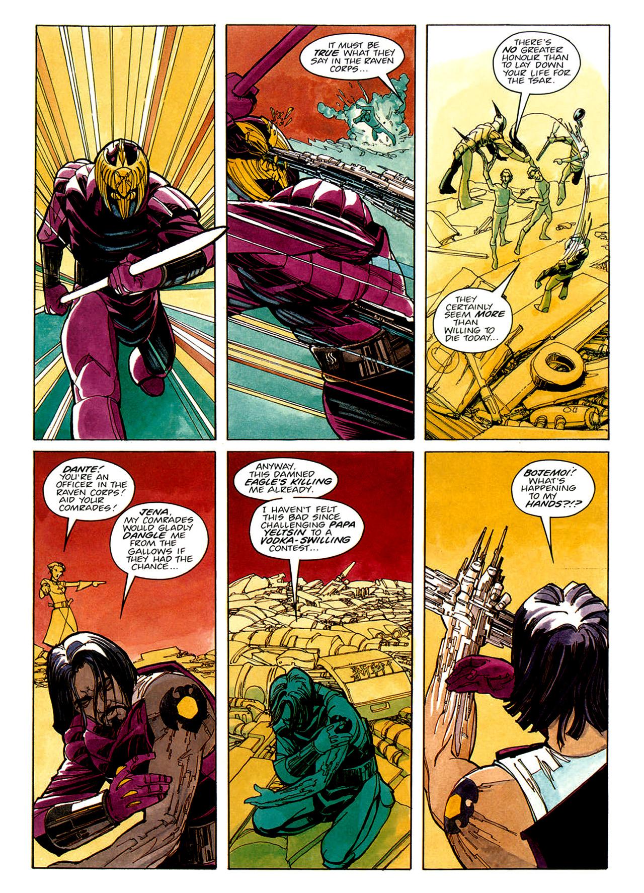 Read online Nikolai Dante comic -  Issue # TPB 1 - 29