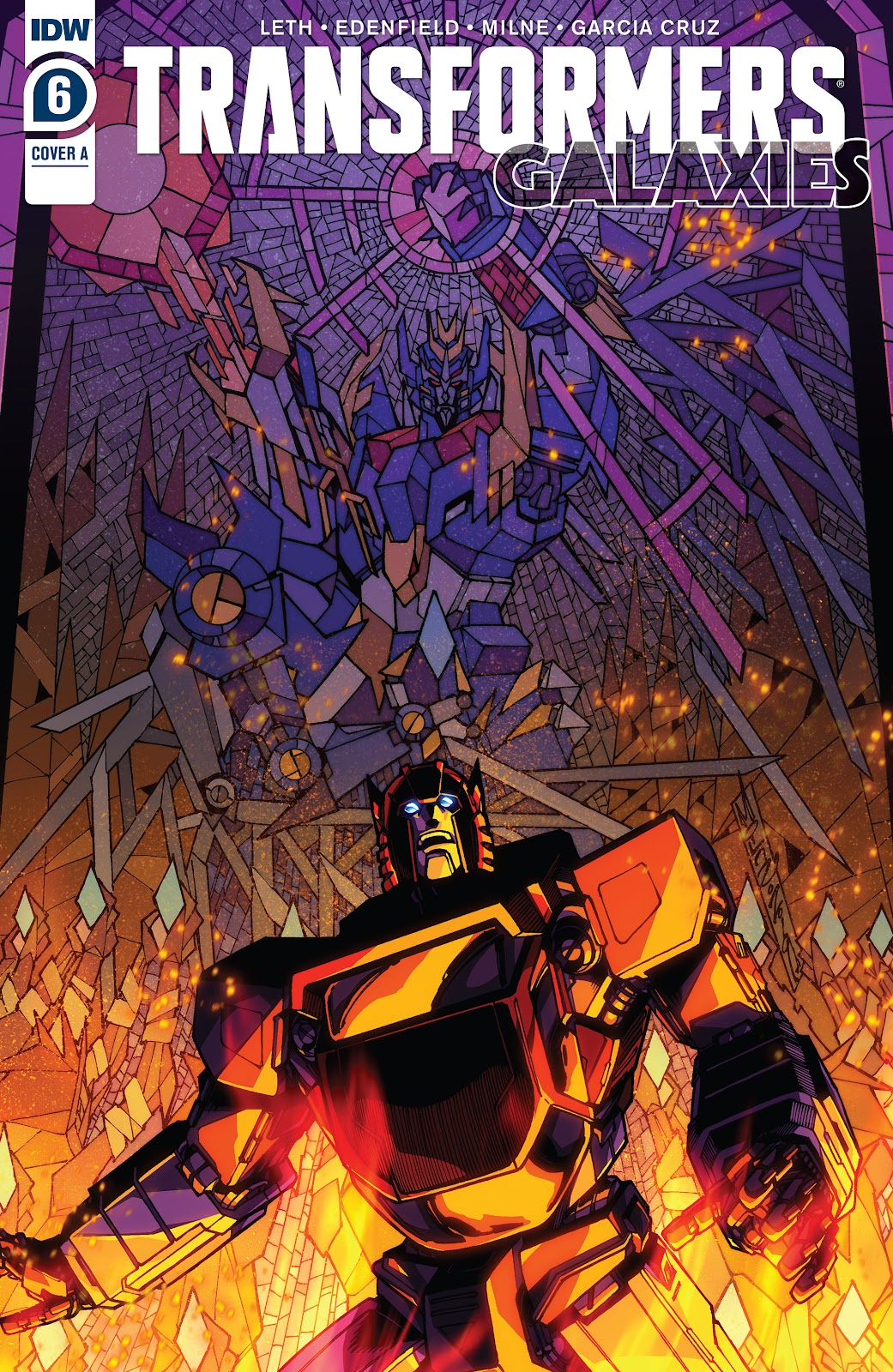 Transformers: Galaxies issue 6 - Page 1