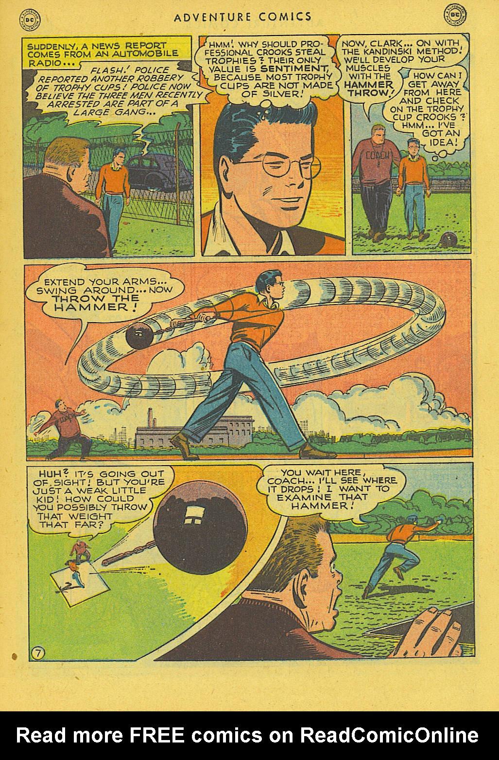 Read online Adventure Comics (1938) comic -  Issue #131 - 8