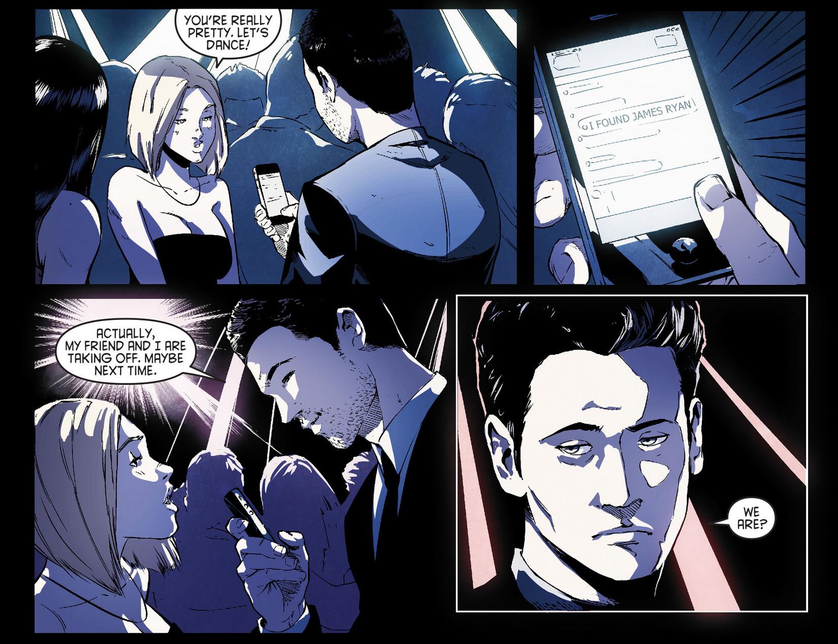 Read online Arrow [II] comic -  Issue #7 - 12
